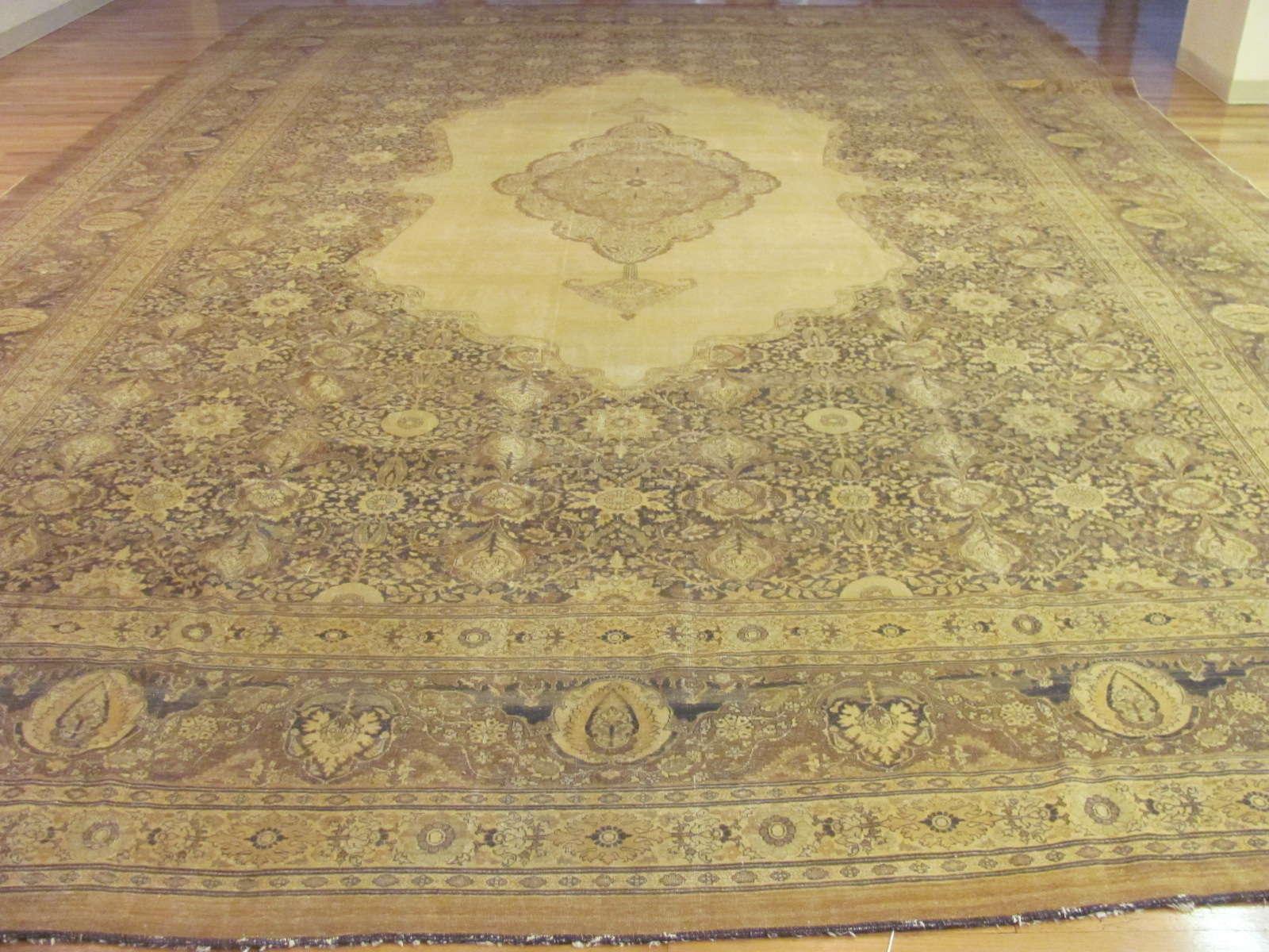 Tabriz Haj Jalili Rug | Persia | Antique | Handmade, Circa 1900