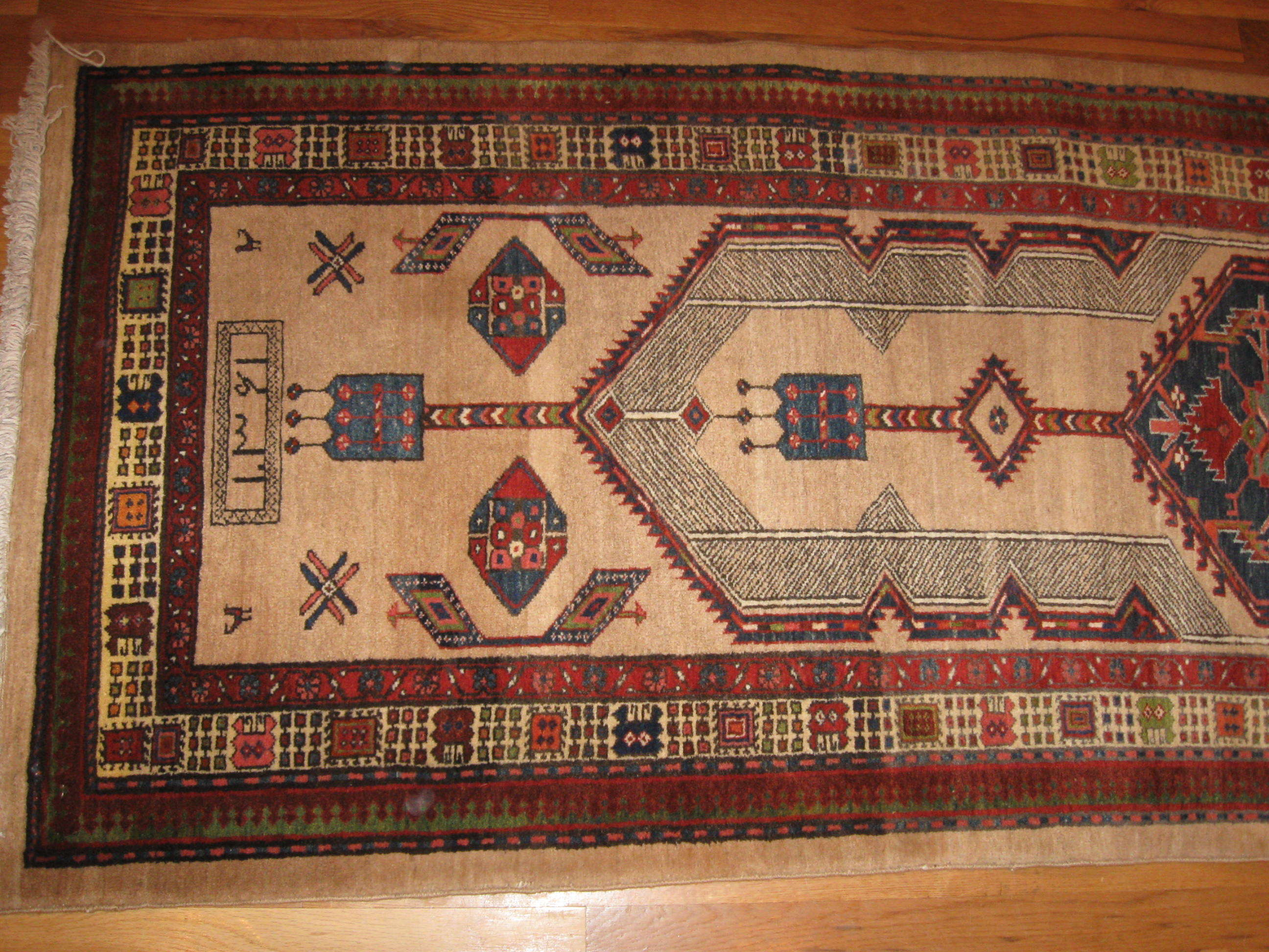 24444 Persian Serab hall runner 2,9x11,2 -1