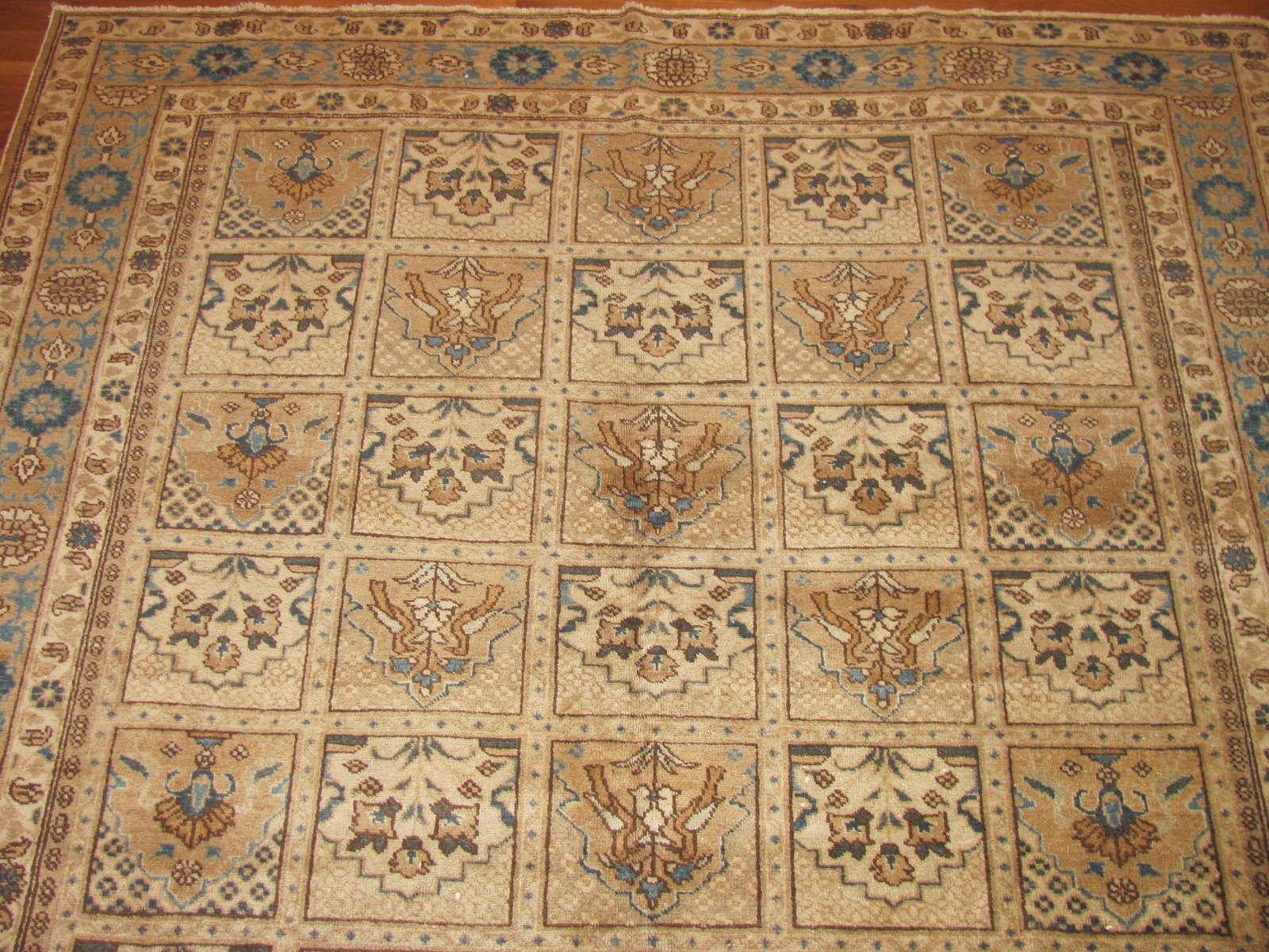 24495 Persian Tabriz rug 5,7 x 8,8 -1