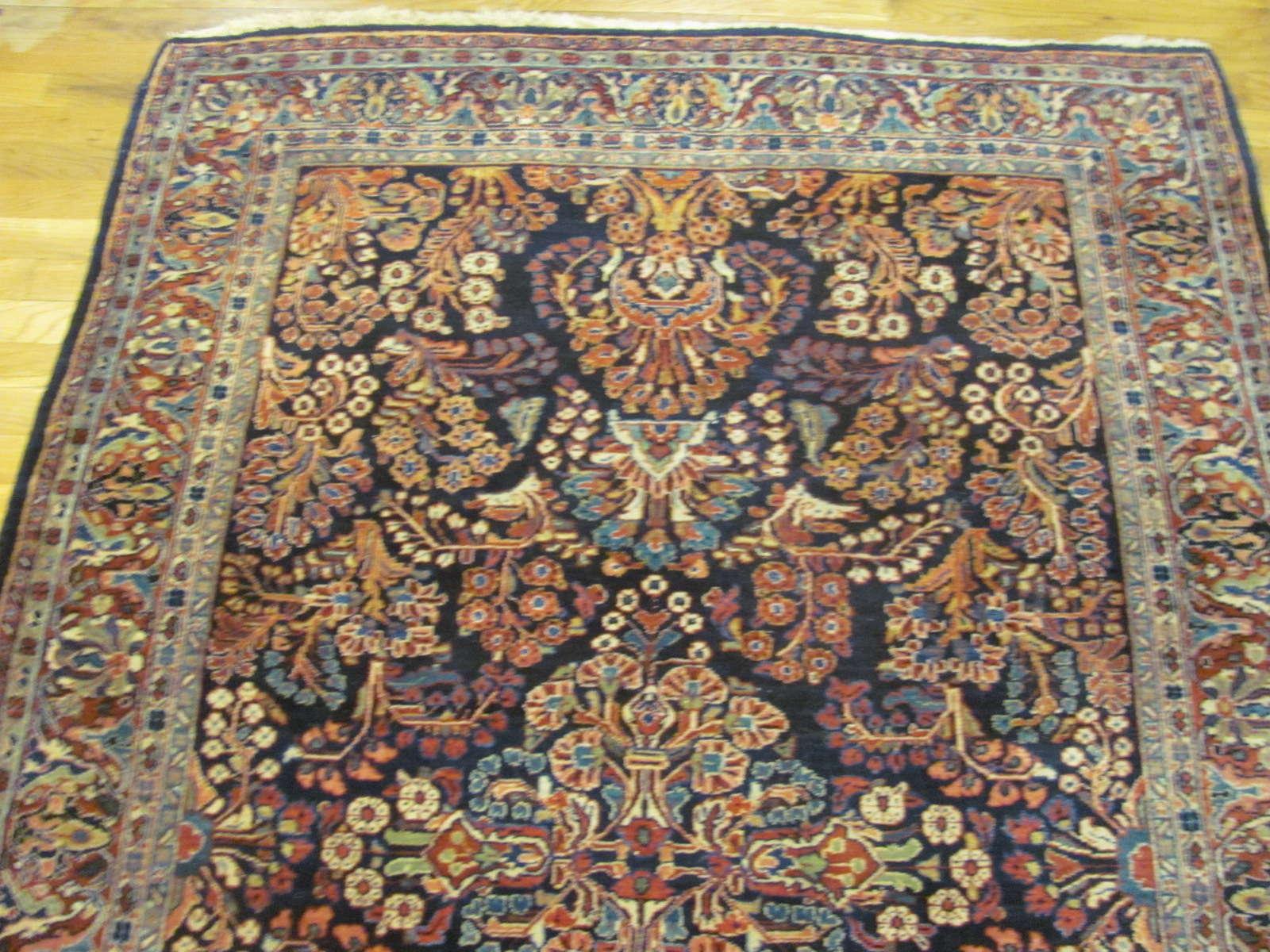 24613 Persian Sarouk rug 4,5x6,7 -1