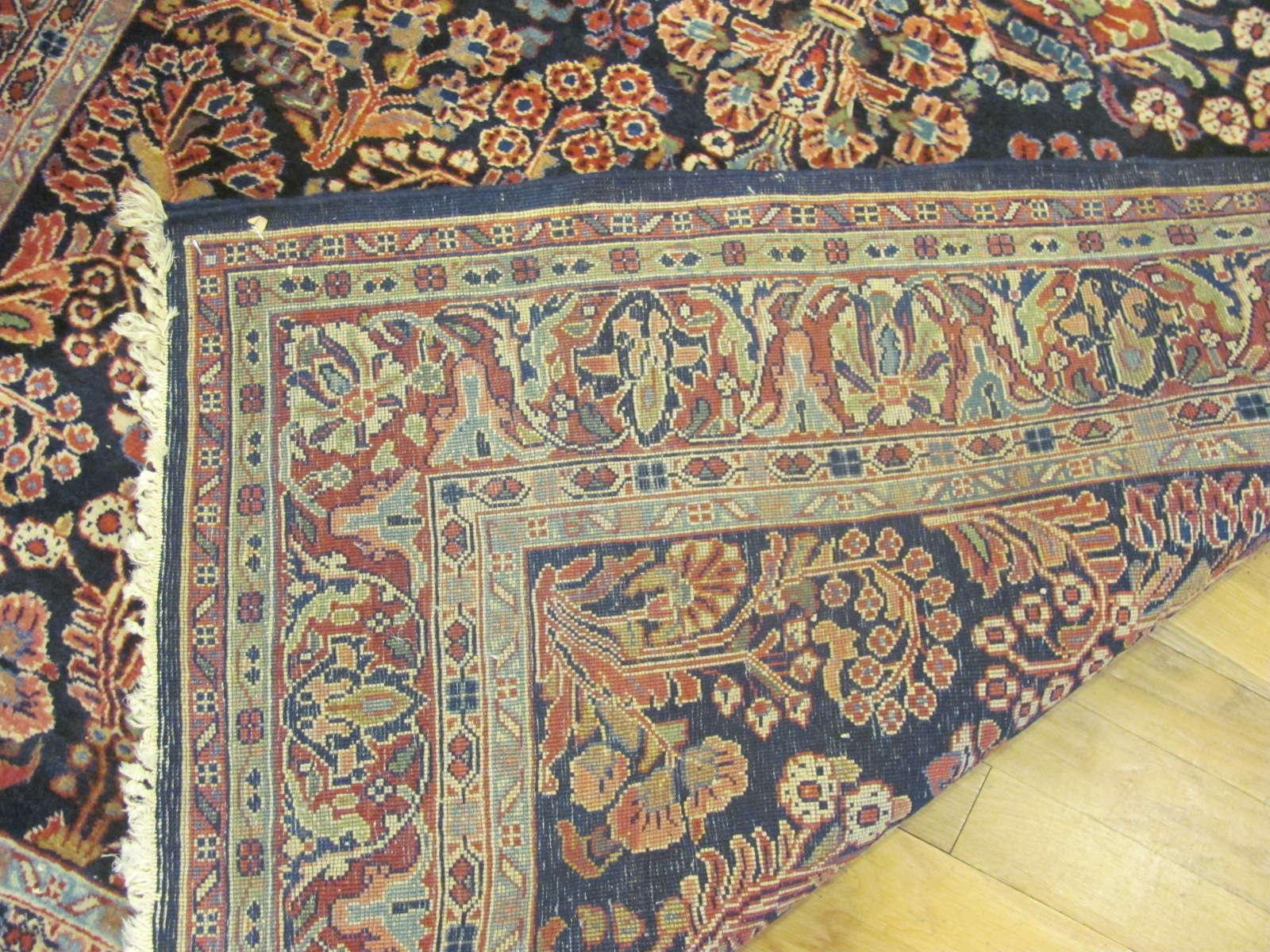 24613 Persian Sarouk rug 4,5x6,7 -2