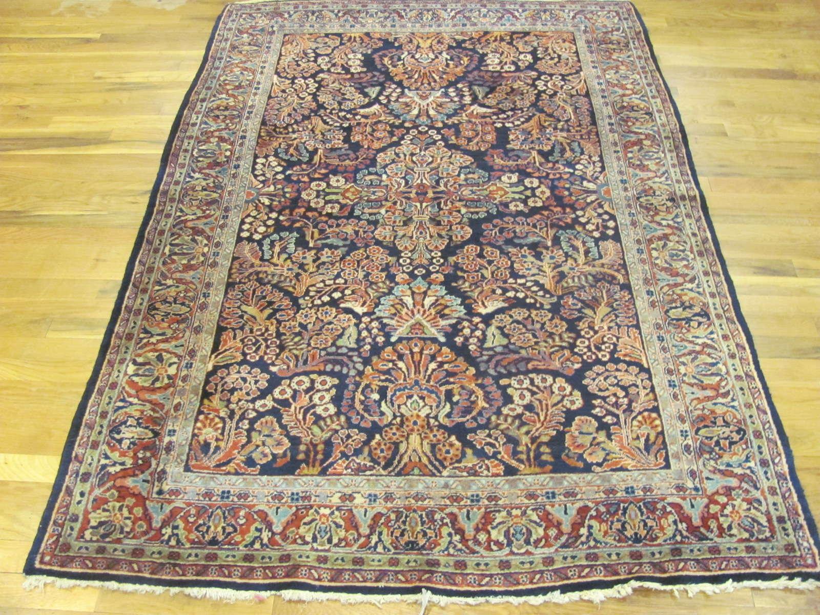 Persian Sarouk Rug | Handmade | Antique, Circa 1920