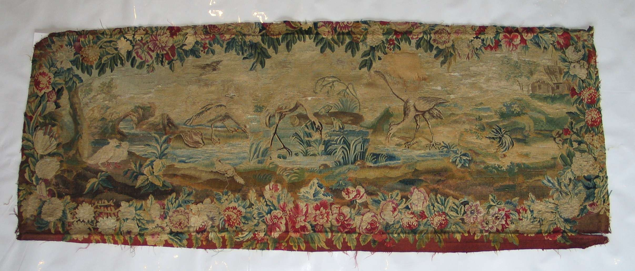 French Tapestry   Antique Circa Early 1800s