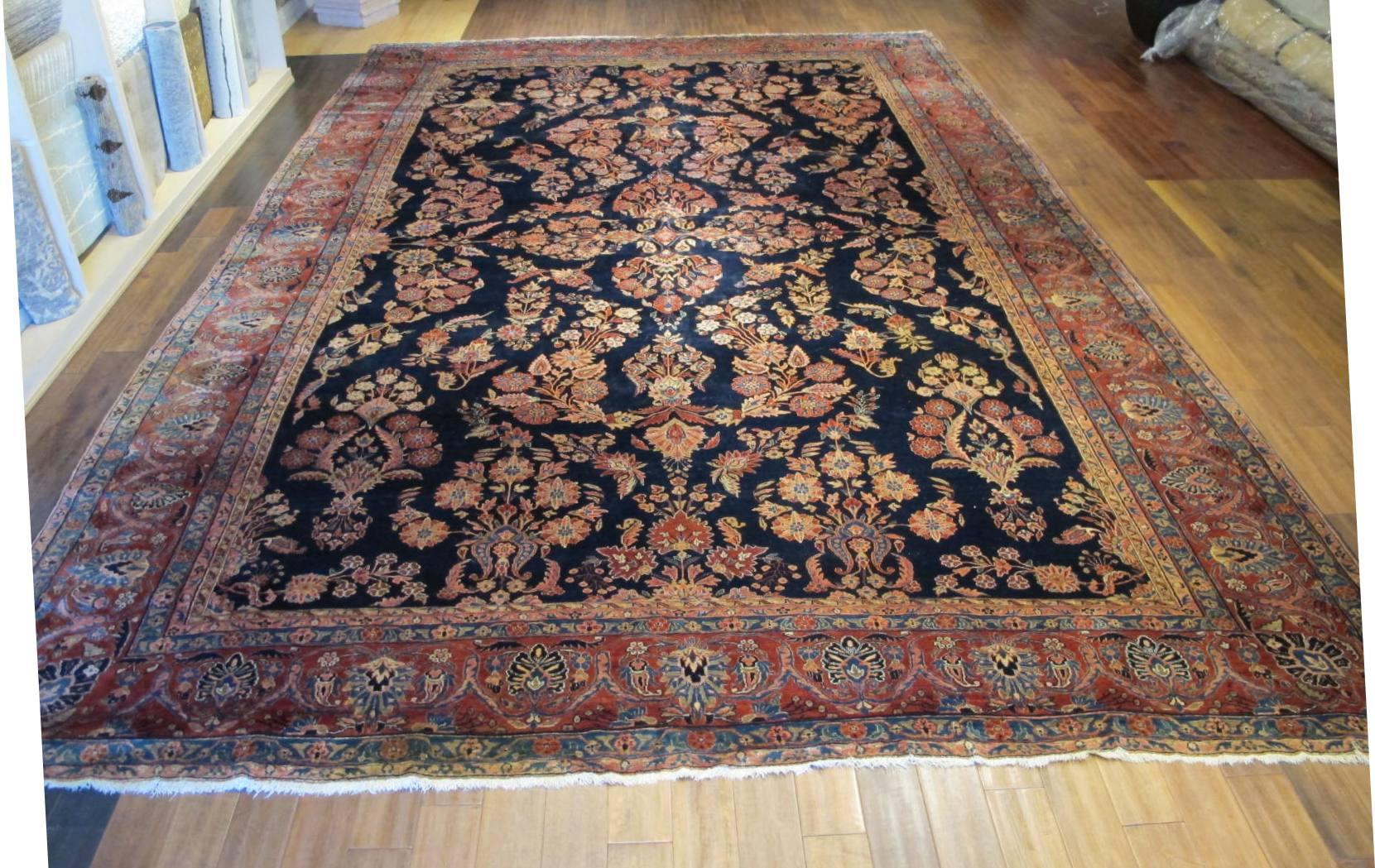 13020  persian sarouk mohajeran carpet 11,1x17 (2)