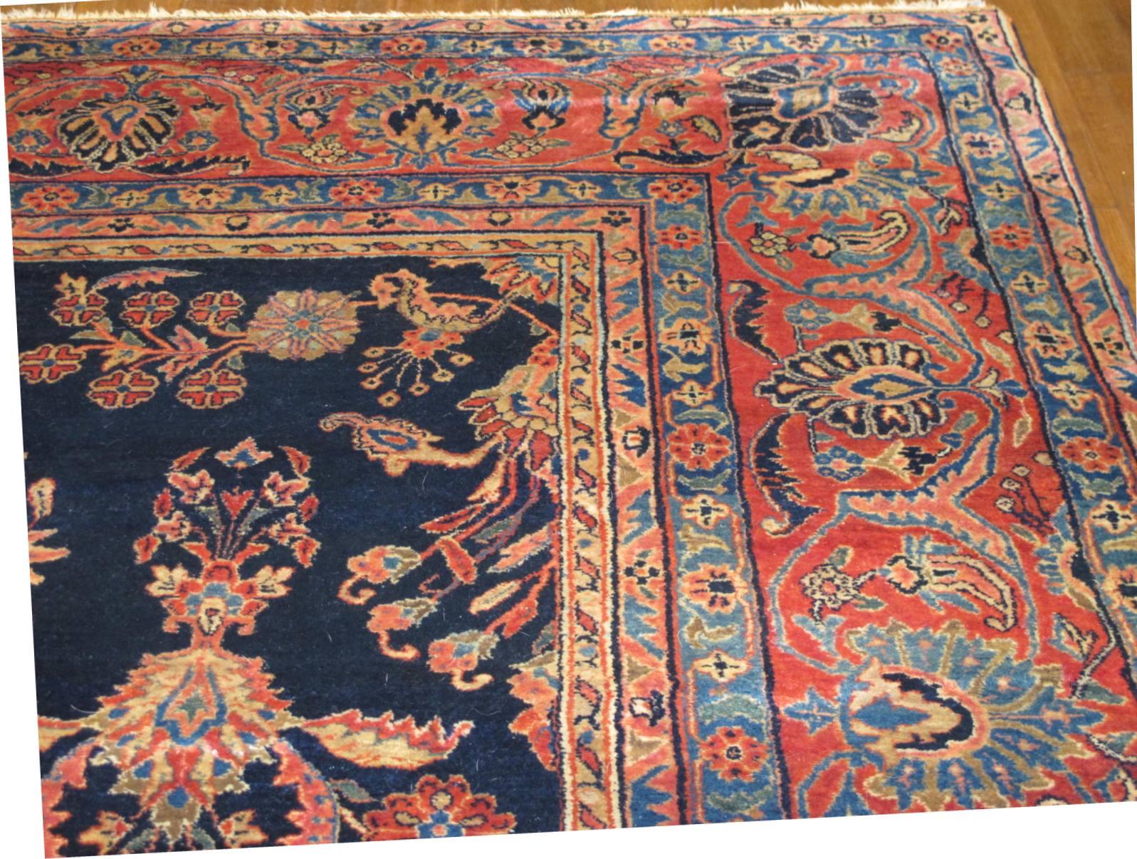13020  persian sarouk mohajeran carpet 11,1x17 (3)
