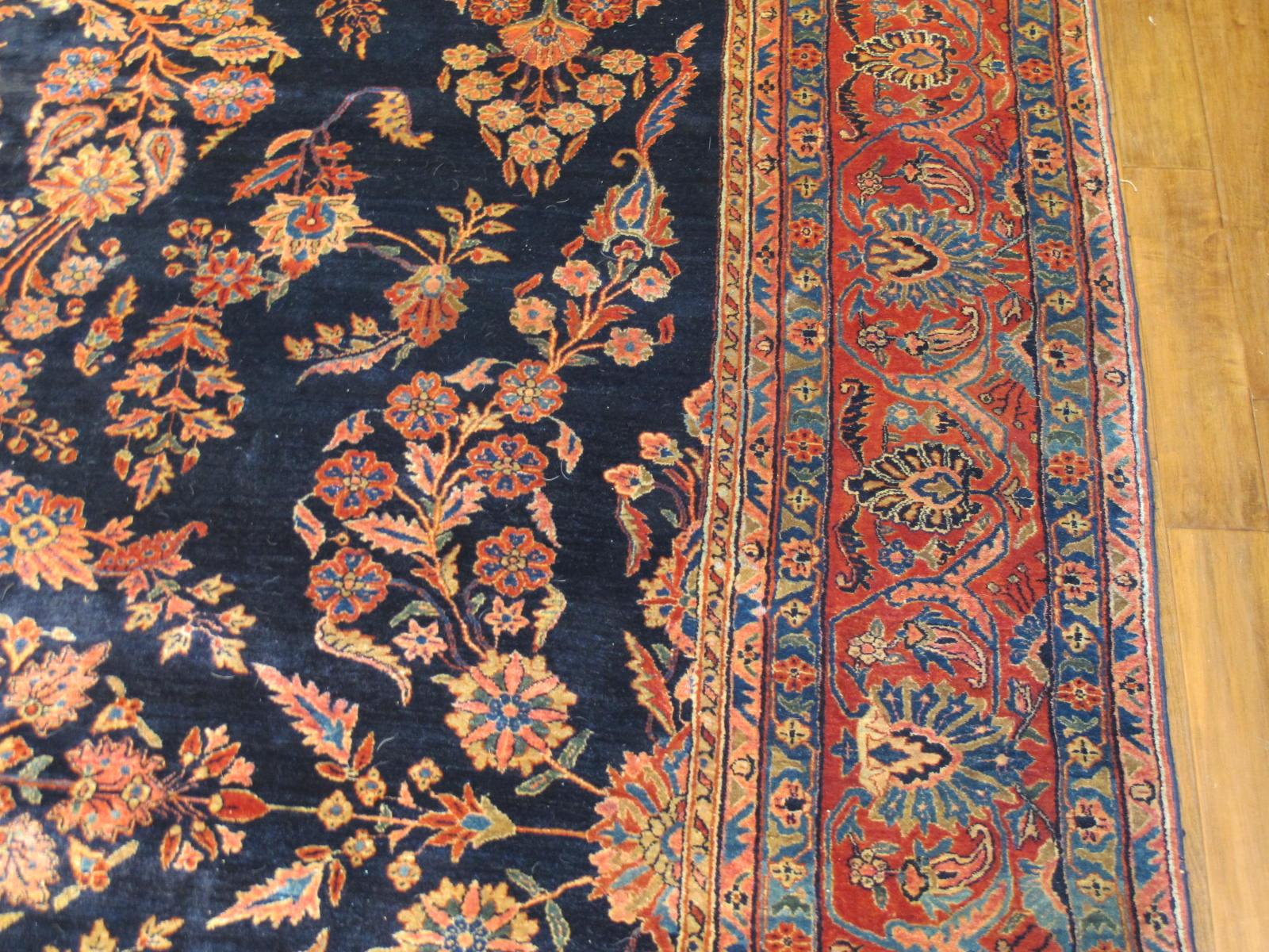 13020  persian sarouk mohajeran carpet 11,1x17 (4)