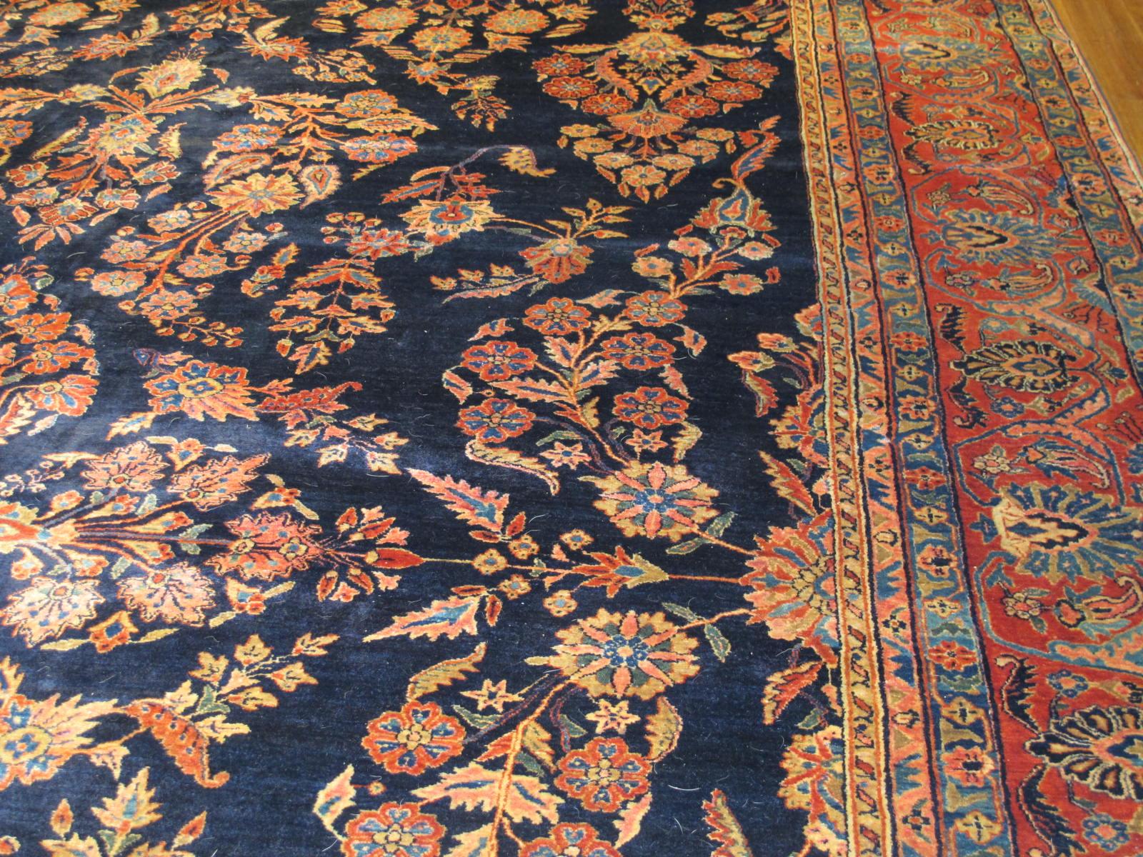13020  persian sarouk mohajeran carpet 11,1x17 (5)