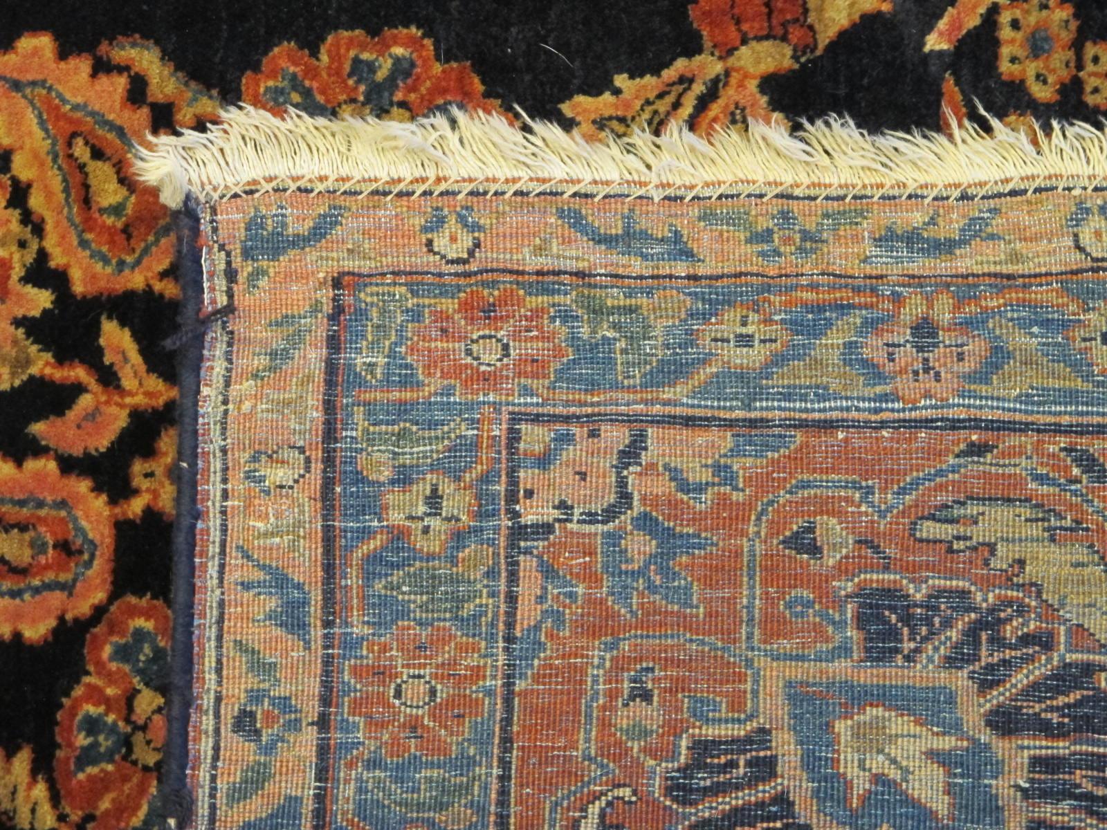 13020  persian sarouk mohajeran carpet 11,1x17 (6)