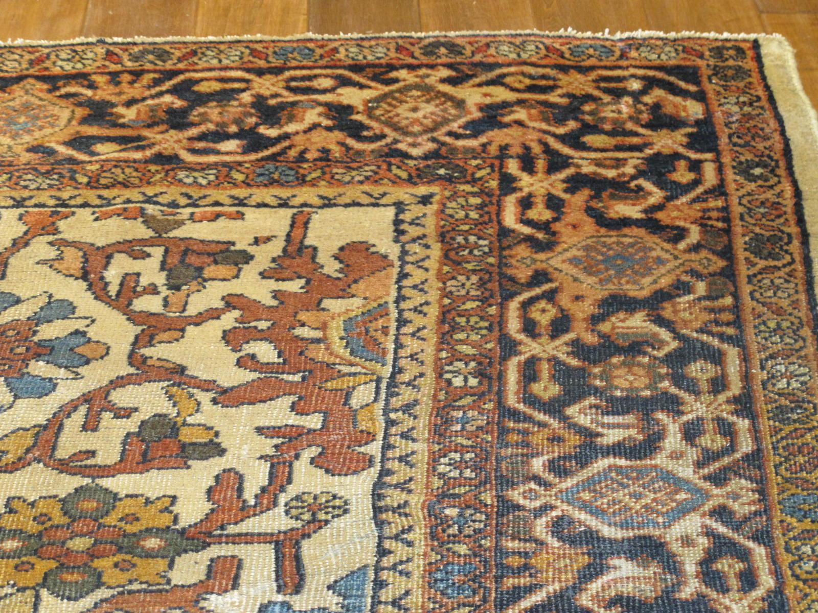 21432 antique persian mahal rug 8,9x12,4 (3)