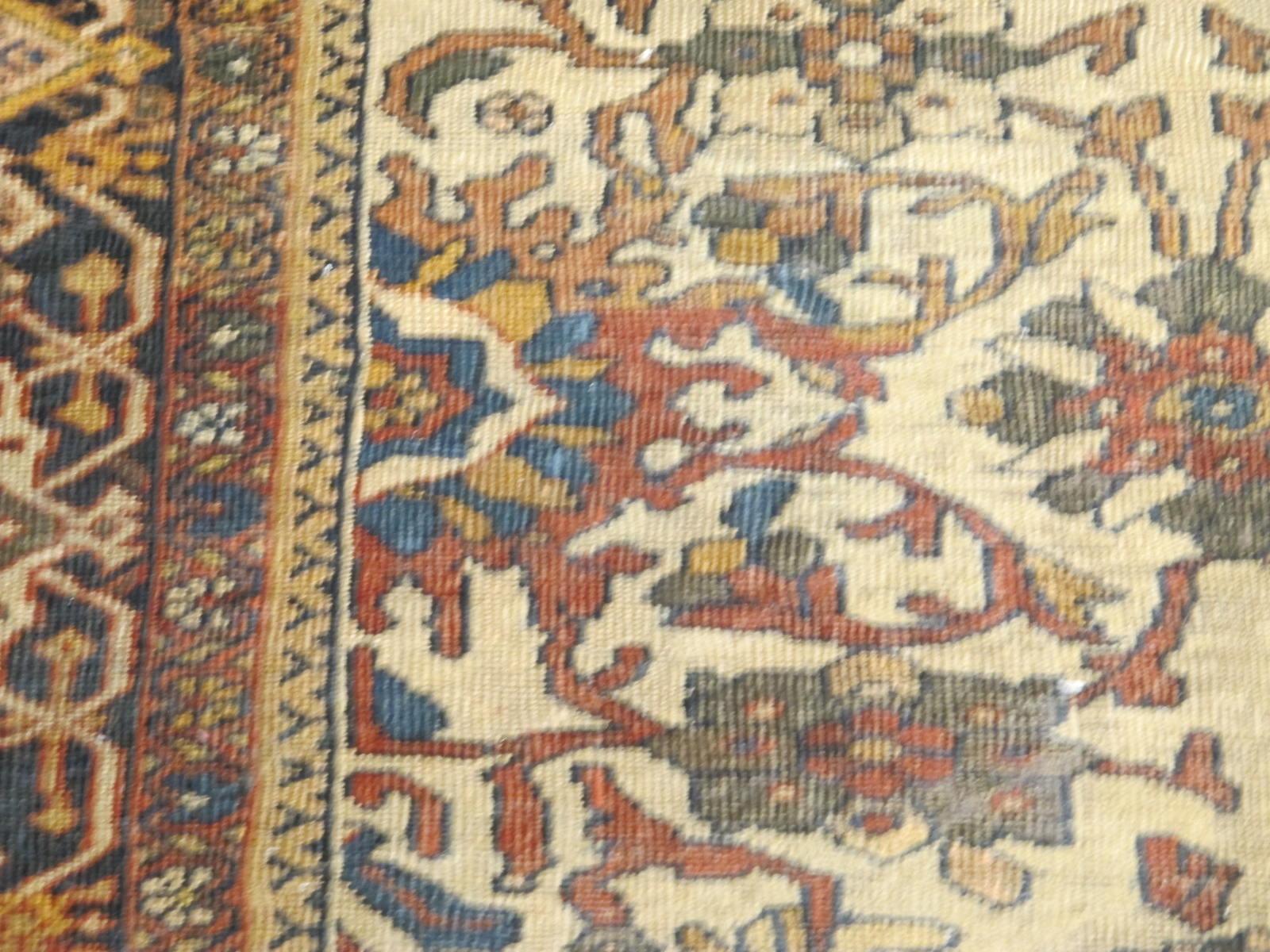 21432 antique persian mahal rug 8,9x12,4 (4)