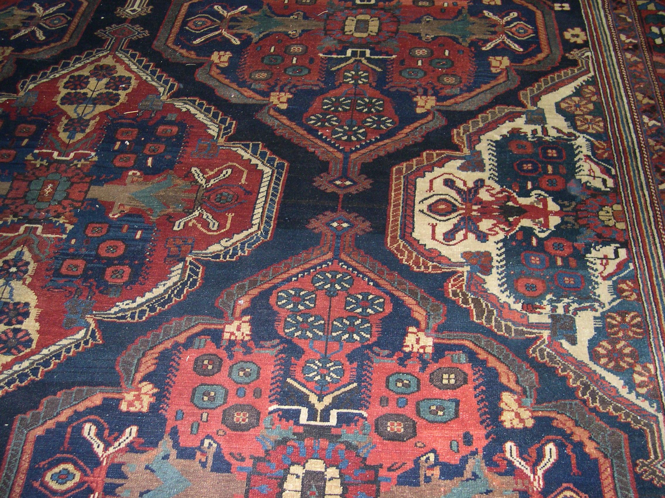 22341 Antique Persian Bakhtiar 14,6 x 22 (2)
