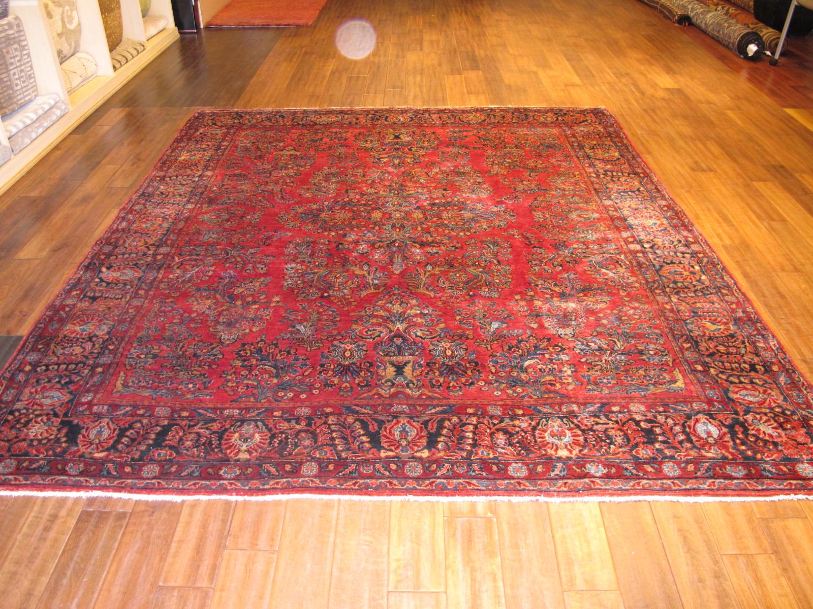13090 Persian Sarouk rug 8x9,3 (10)
