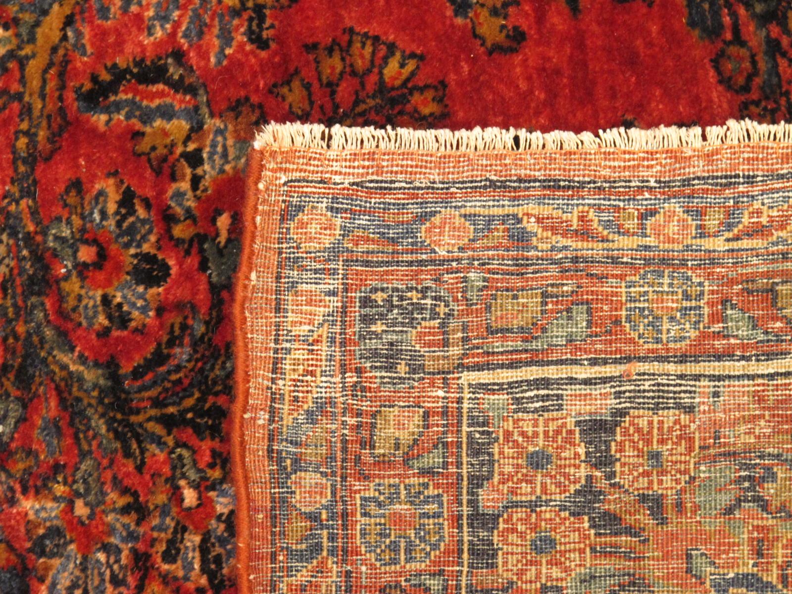 13090 Persian Sarouk rug 8x9,3 (6)