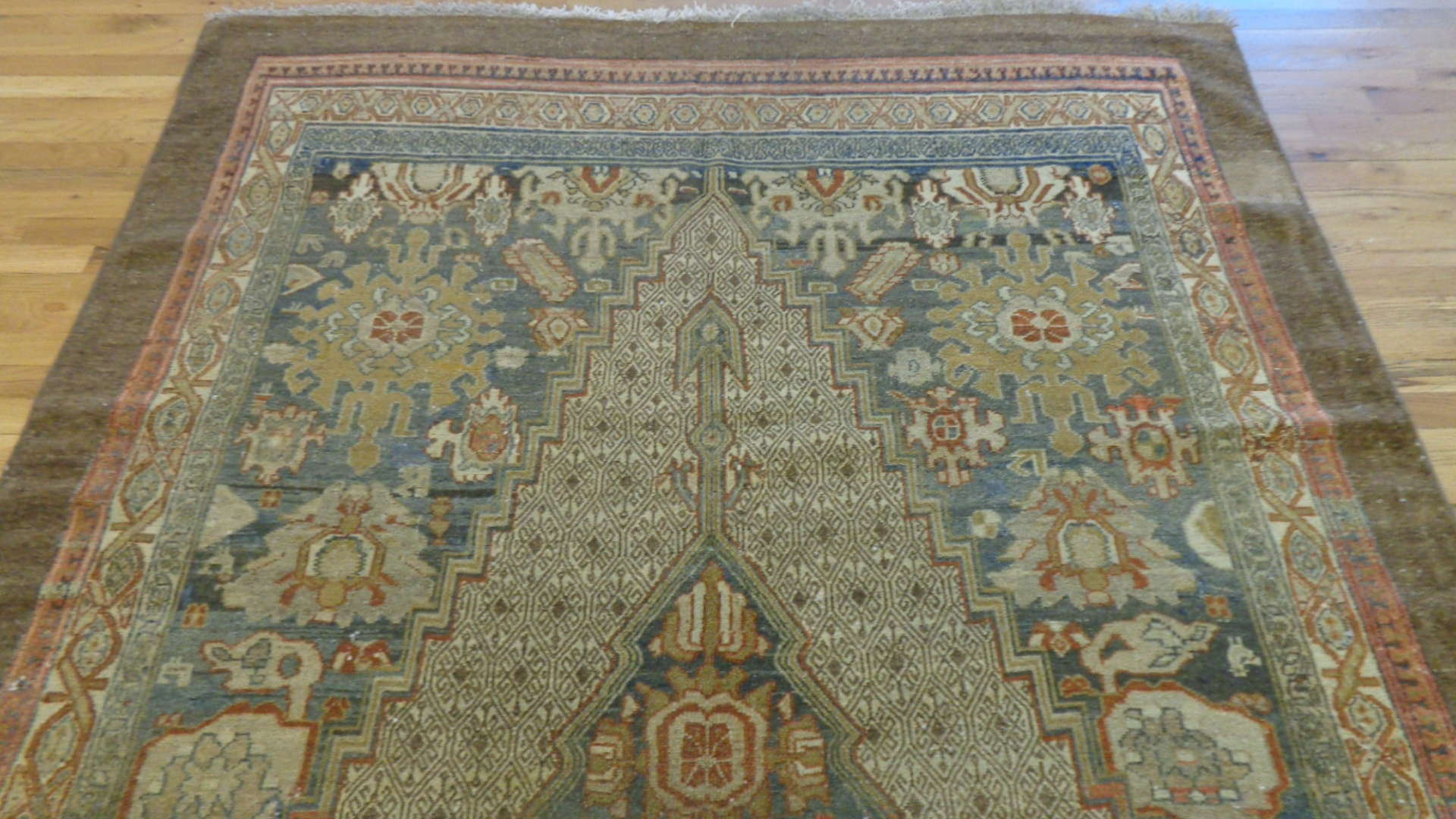 24746 antique persian malayer rug 6x10.2-1