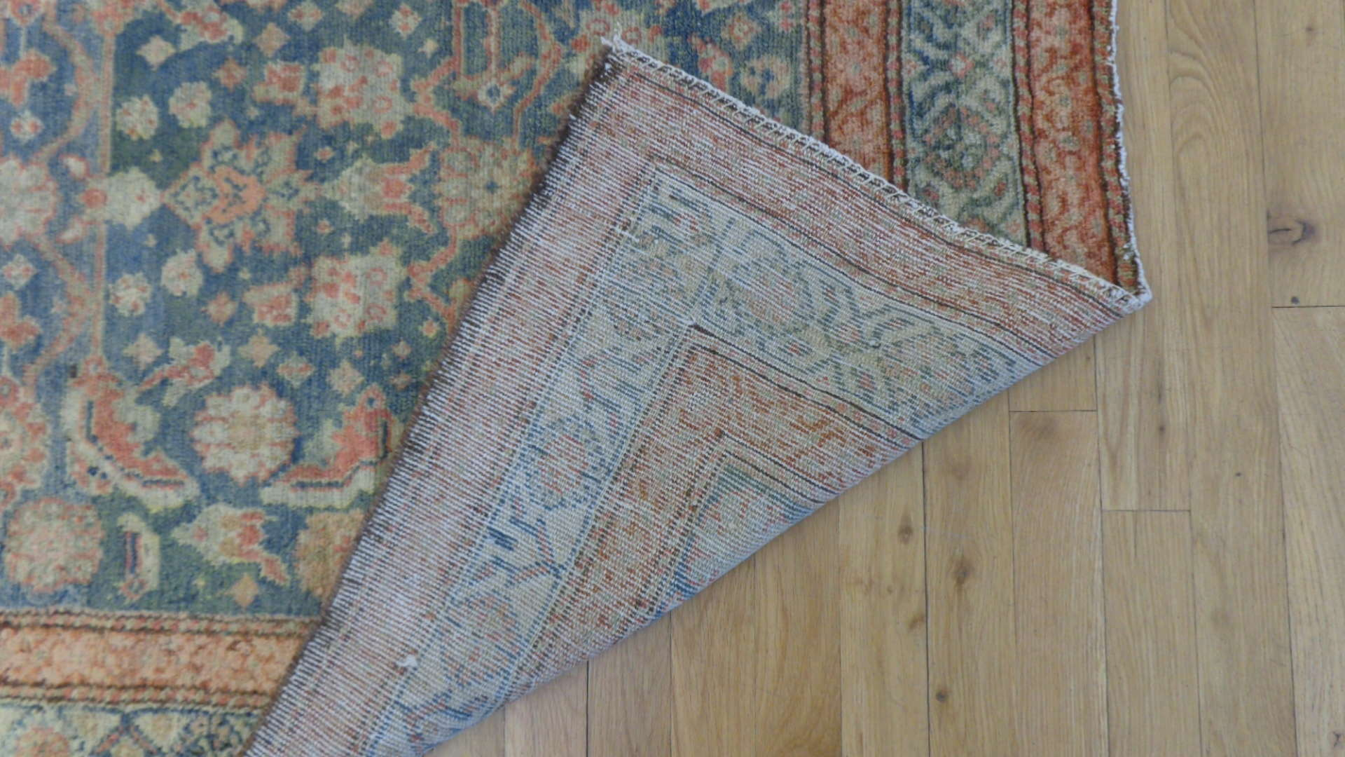24750 antique persian malayer hall runner 3.6x10.2-