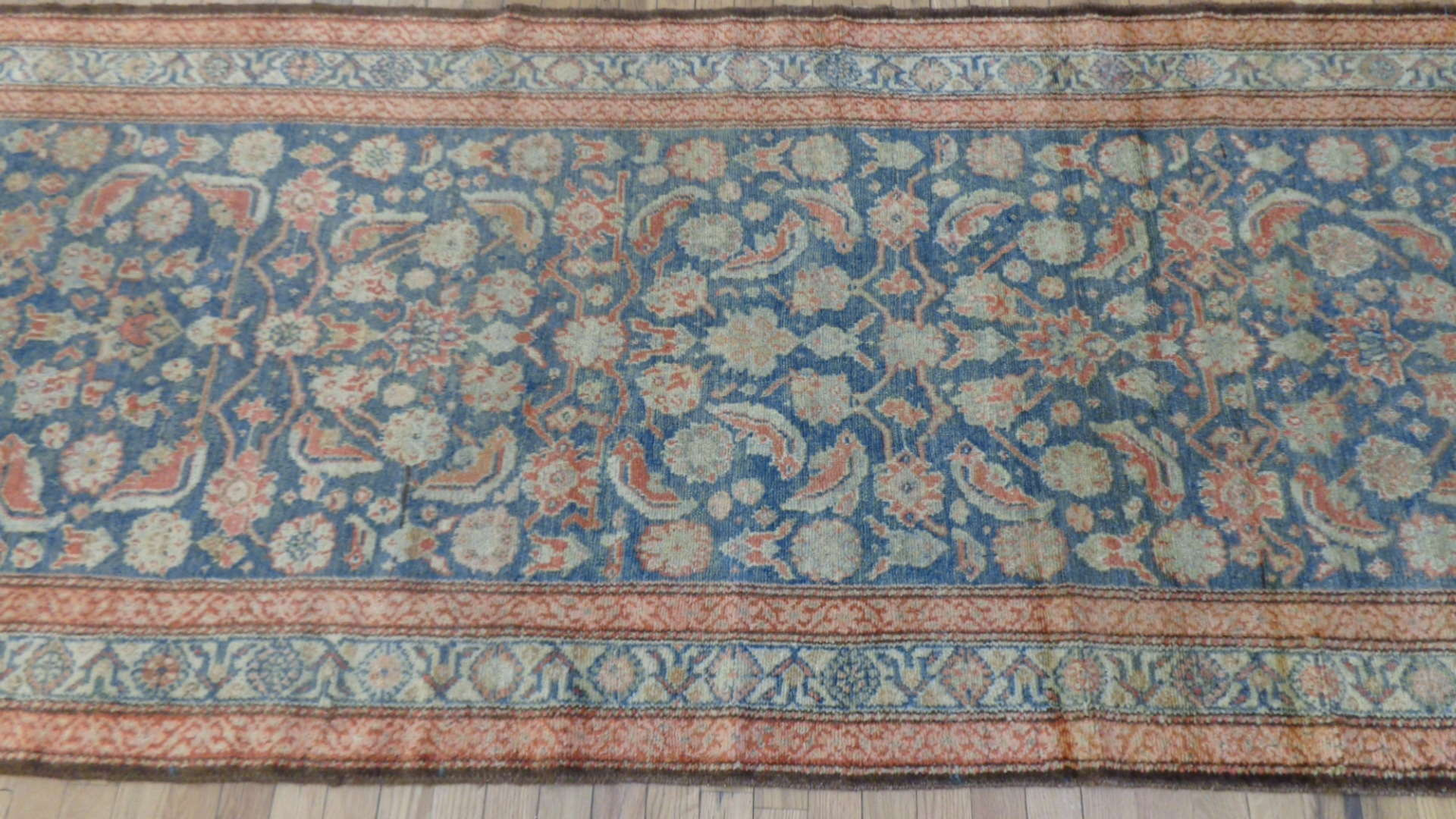 24750 antique persian malayer hall runner 3.6x10.2-2