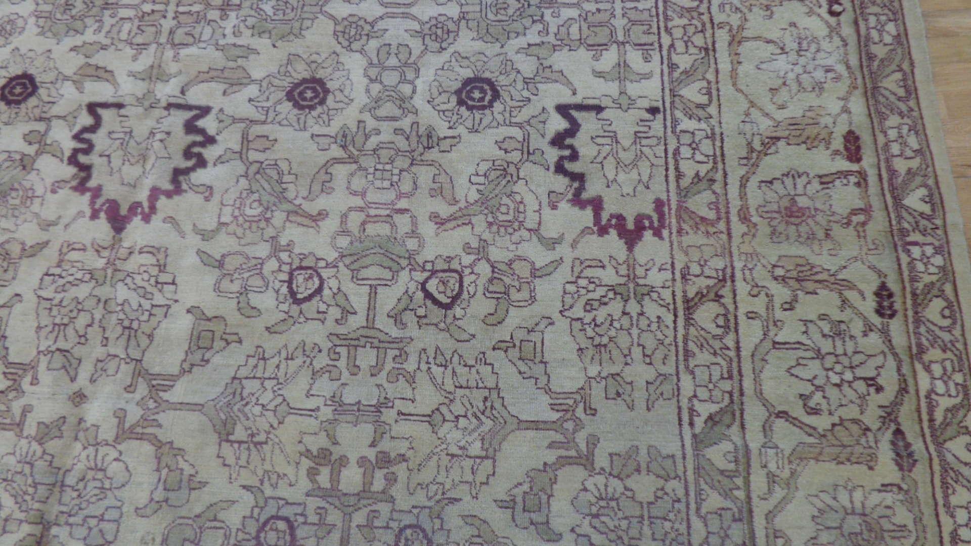24753 indian agra rug 9.9x13.9-2