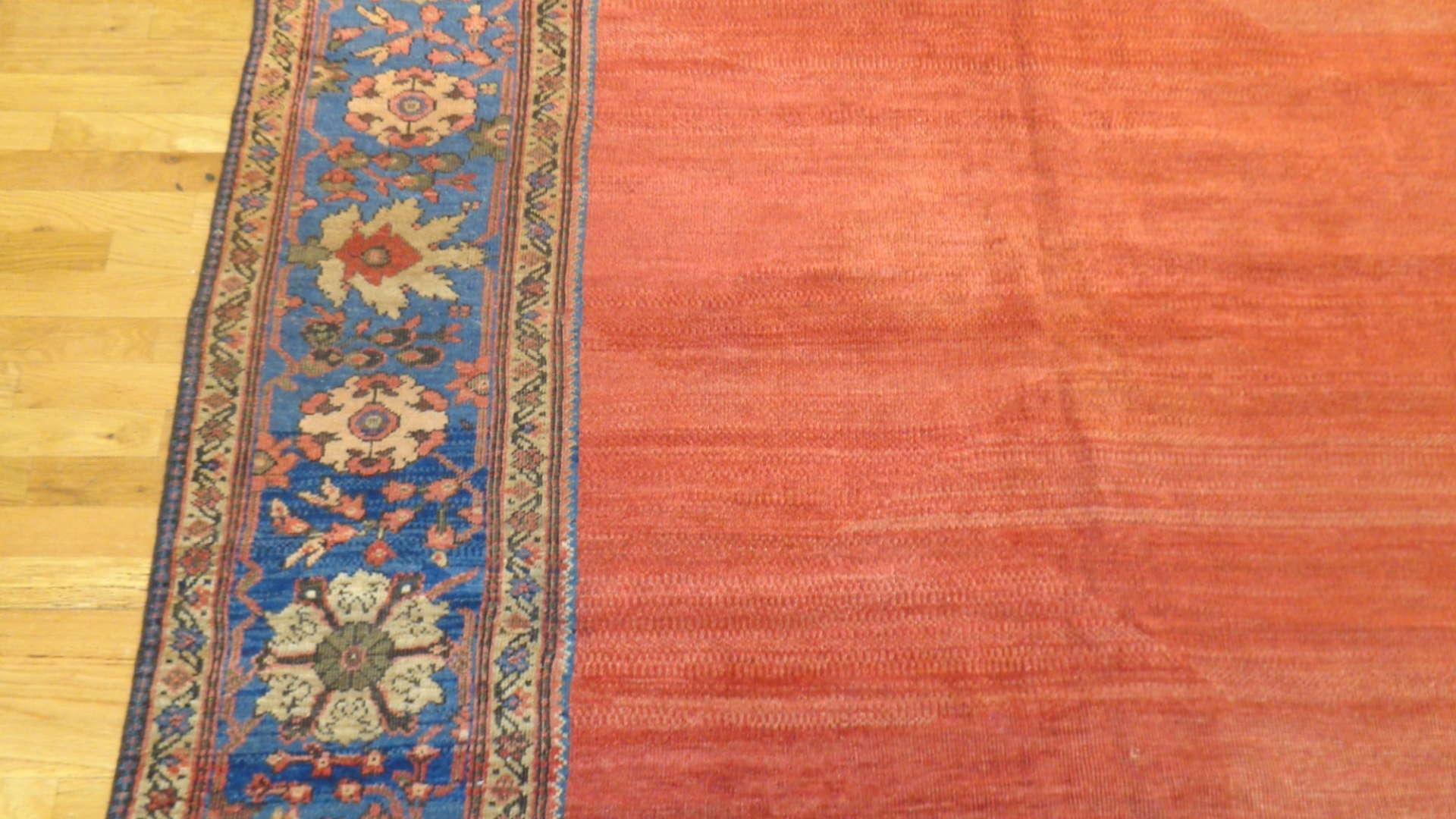 24760 antique persian mahal rug 9,11x13,6-2
