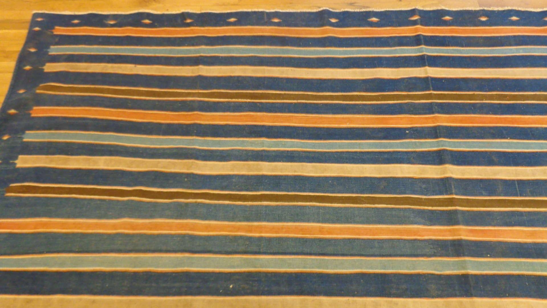 24761 antique caucasian kilim rug 10,10 x 14,8-1
