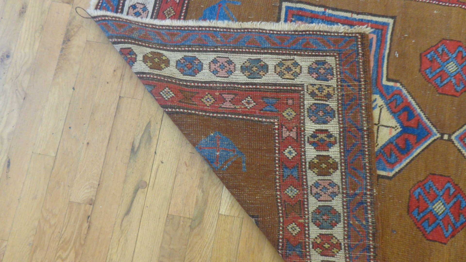 24766 antique northwest persian hall runner 3.8x11-3