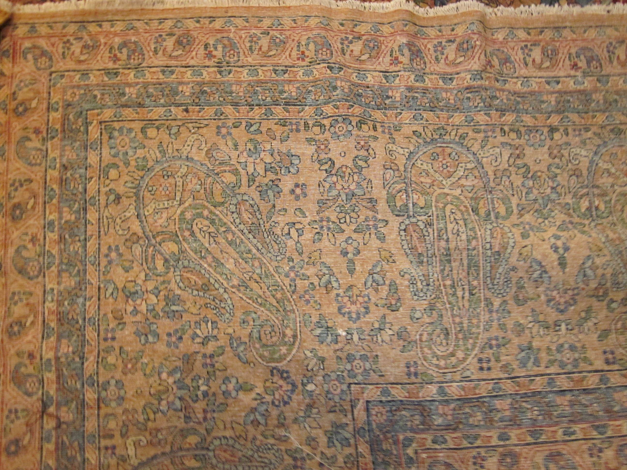 24774 Persian Kirman carpet 13,6 x 17-2