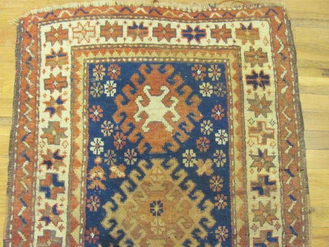 24806 antique caucasian kazak rug 2,10x4,5-1