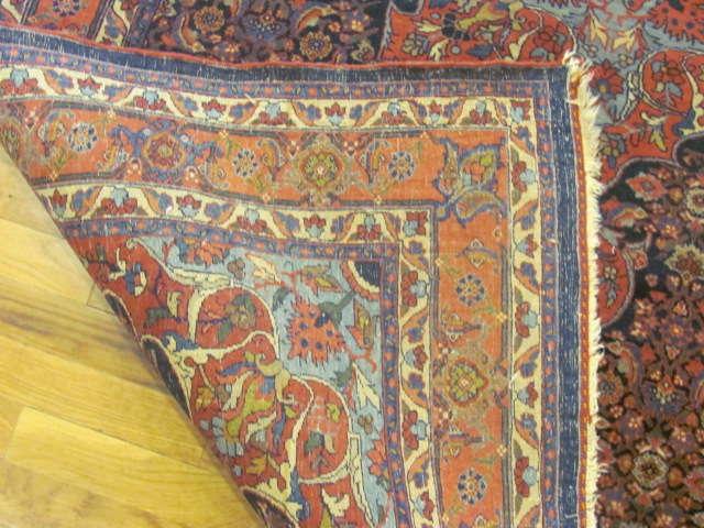 24811 persian bidjar rug 4,9x7-3