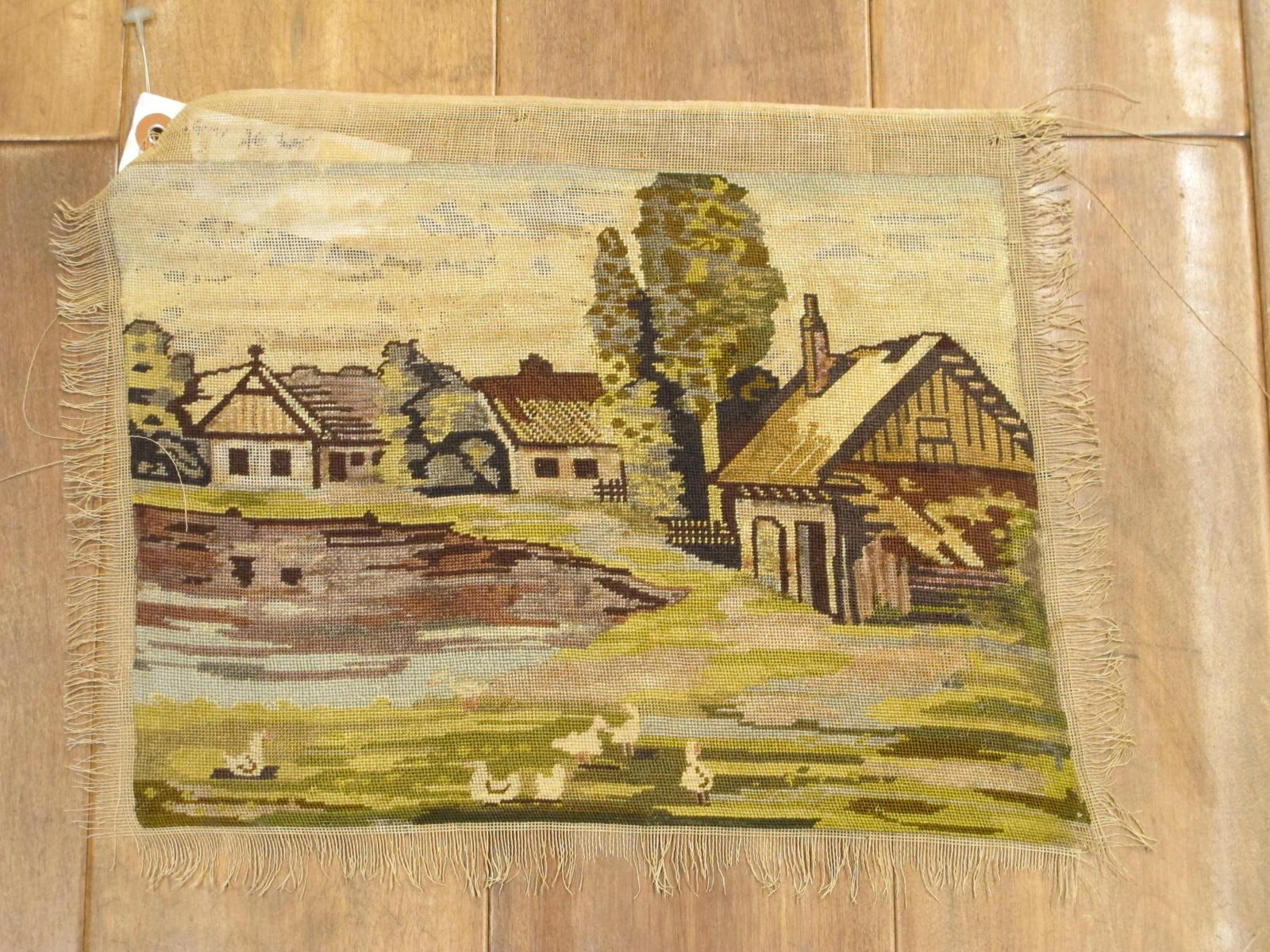 Petitpoint tapestry   Europe   Circa 1930