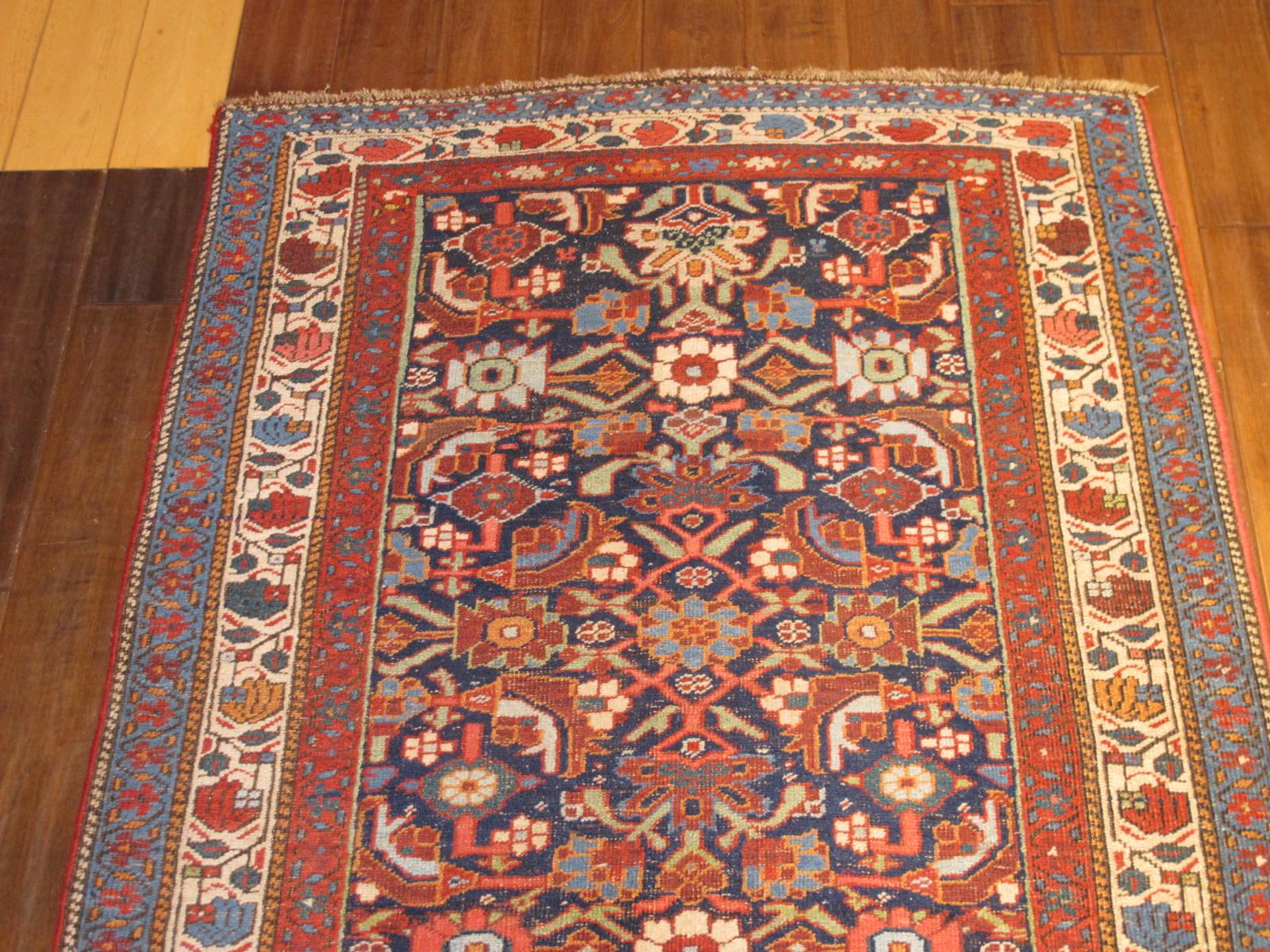 23182 antique persian bidjar runner 3,11 x 18,2 (2)