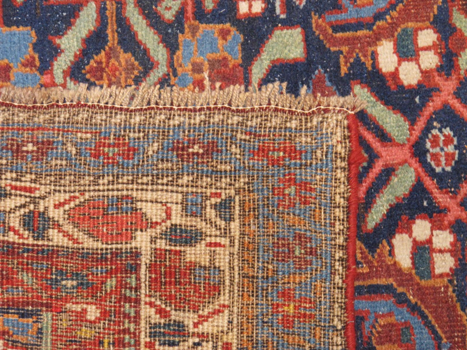 23182 antique persian bidjar runner 3,11 x 18,2 (3)