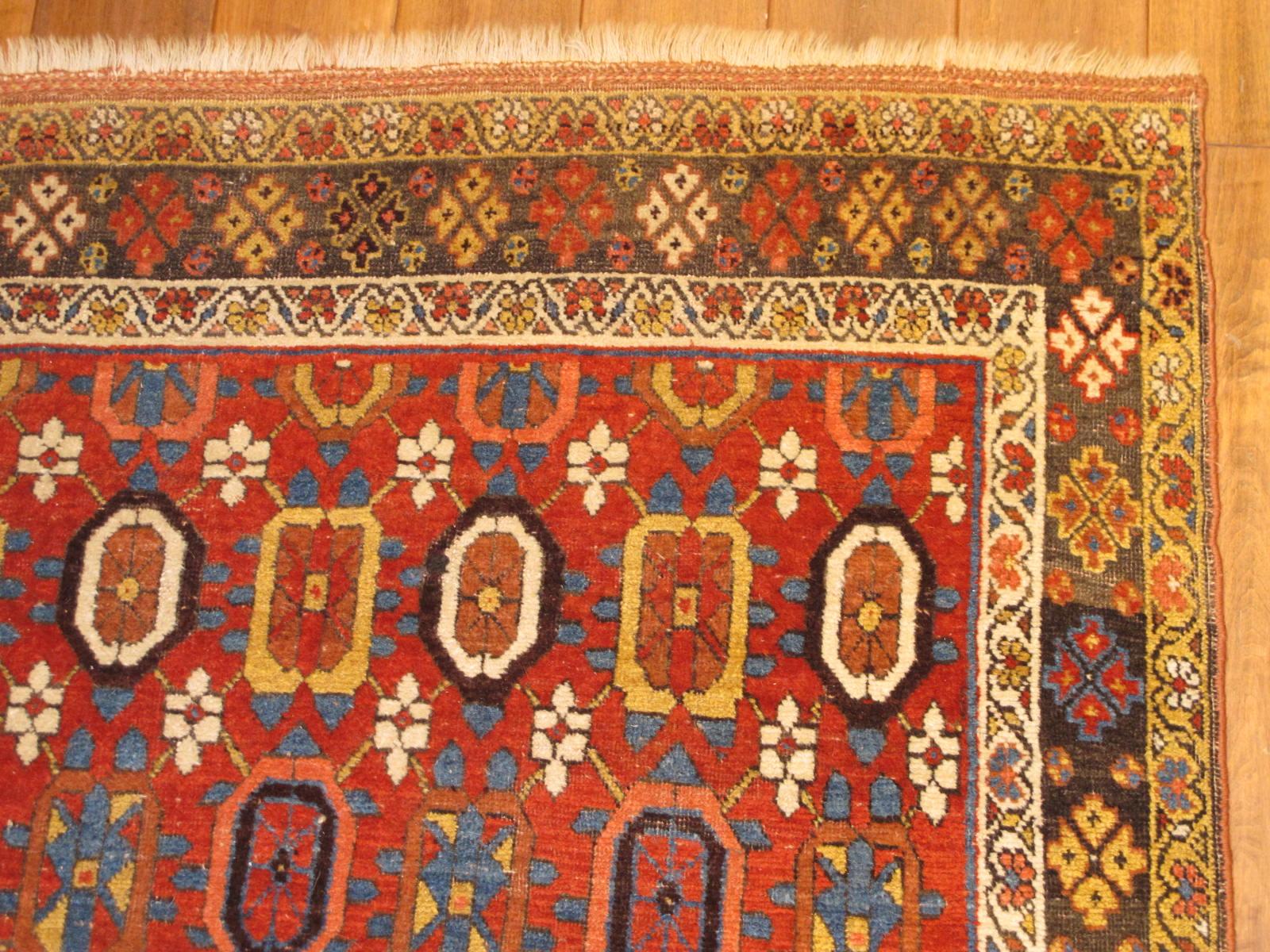 23185 antique persian bidjar rug 4x6,9 (2)