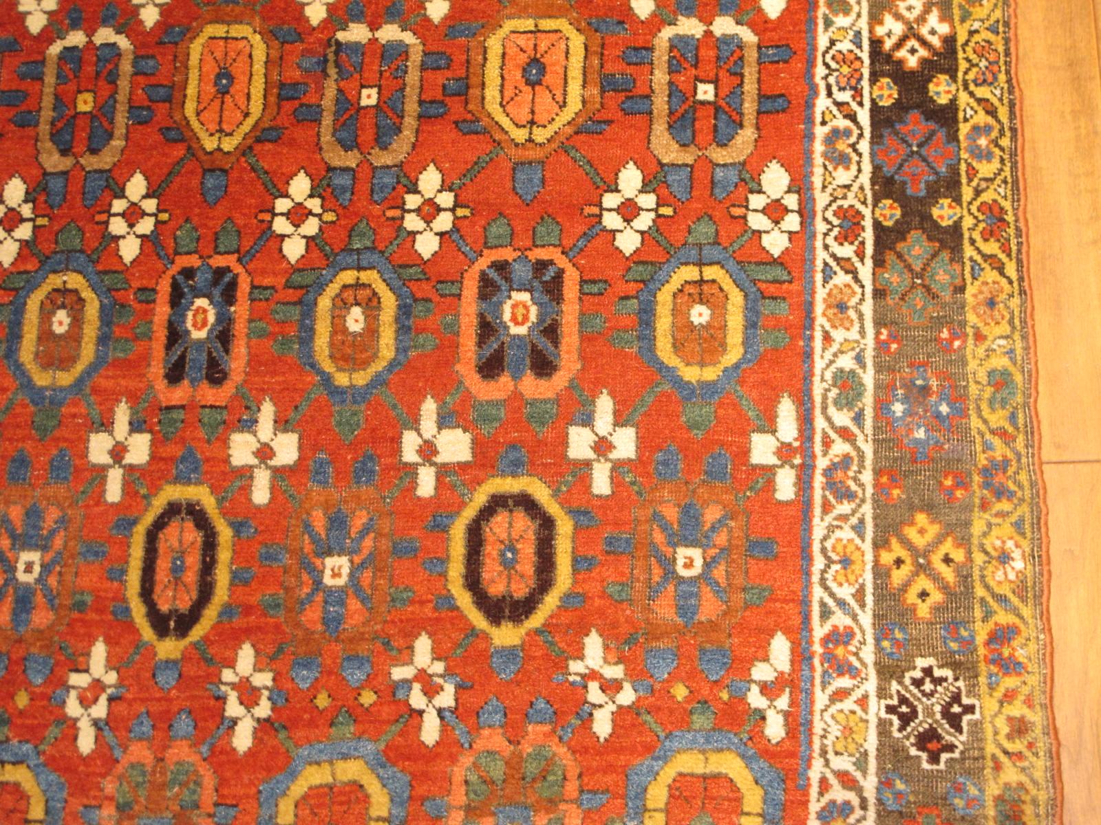 23185 antique persian bidjar rug 4x6,9 (3)