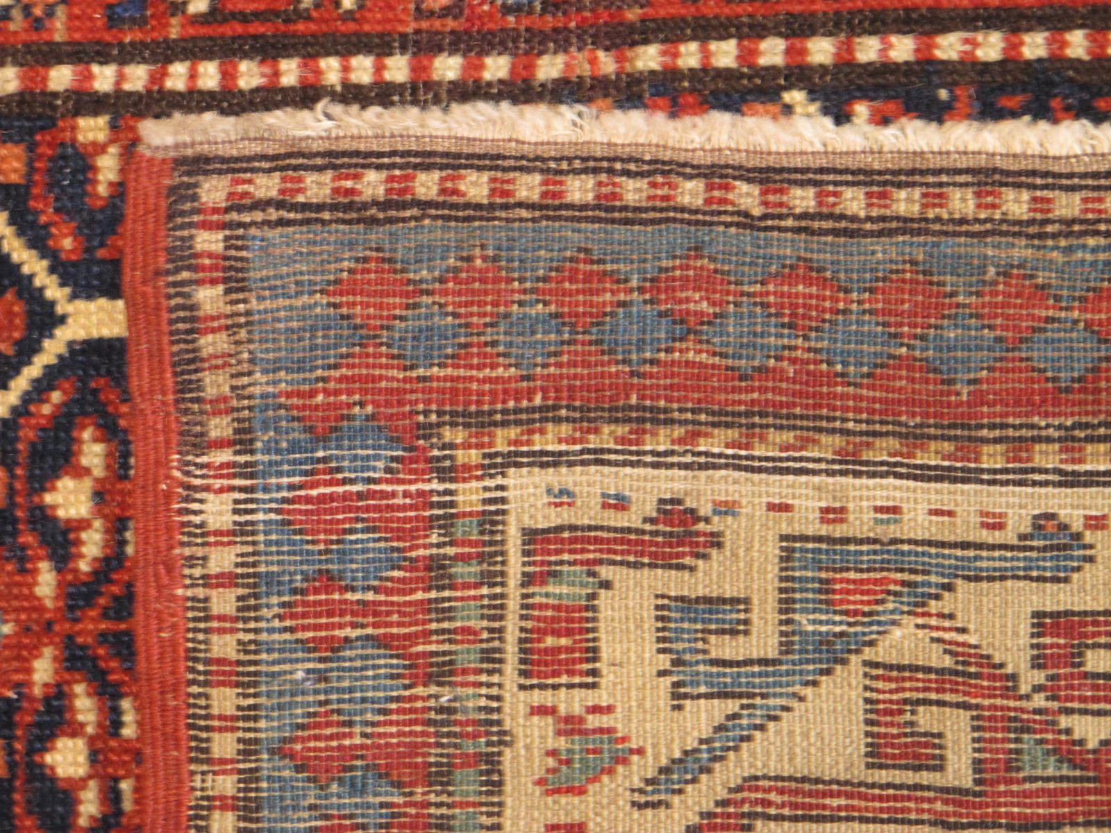 23201 antique caucasian shirvan runner 3,2 x 10,3 (4)