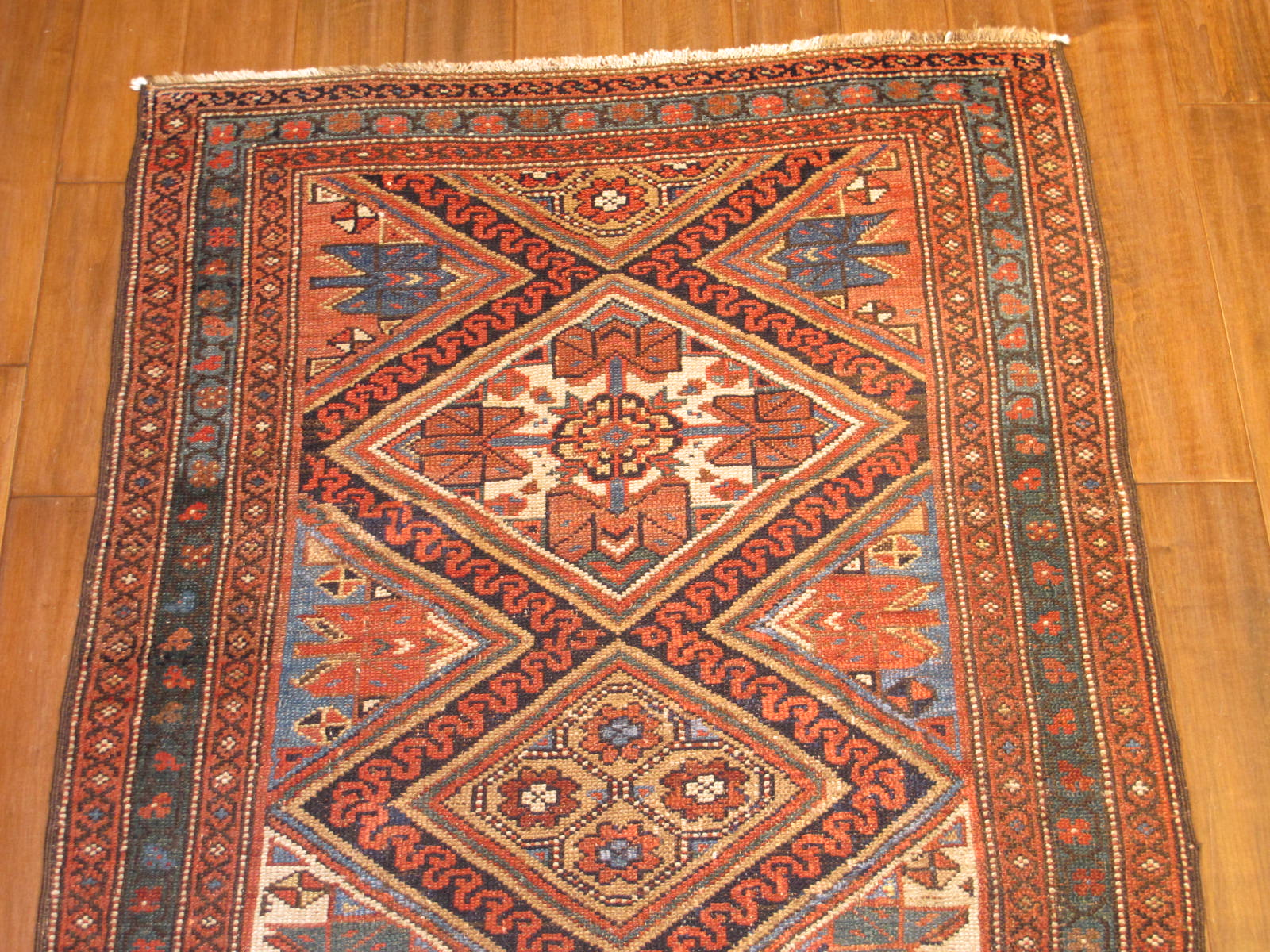 23205 antique persian kurdish runner 3,5 x 16,3 (2)
