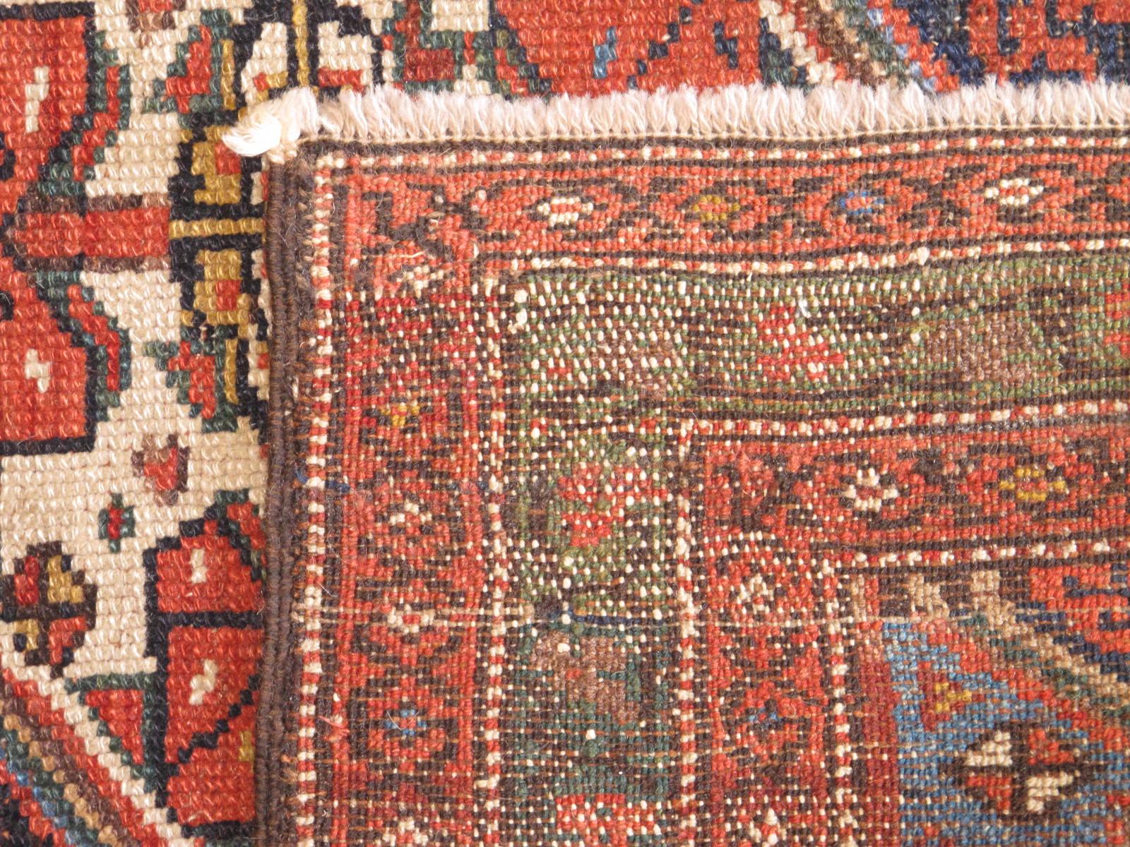 23205 antique persian kurdish runner 3,5 x 16,3 (3)