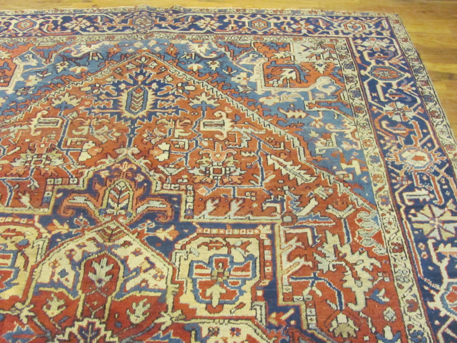 24843 persian heriz rug 7,9 x 10,10-1
