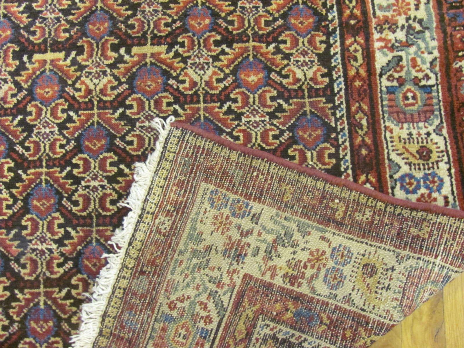24853 antique persian hamedan hall runner 3,9 x 17 (1)