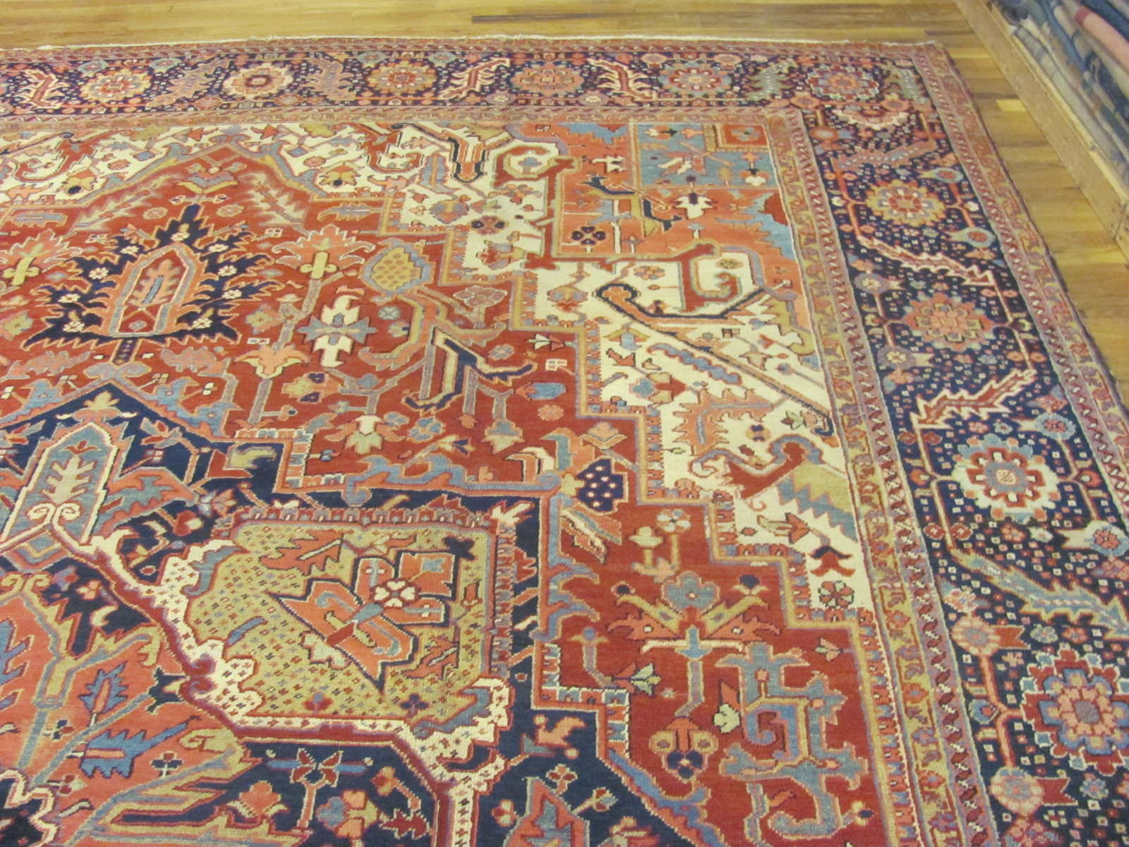 24878 persian heriz carpet 11,6x15,3-1