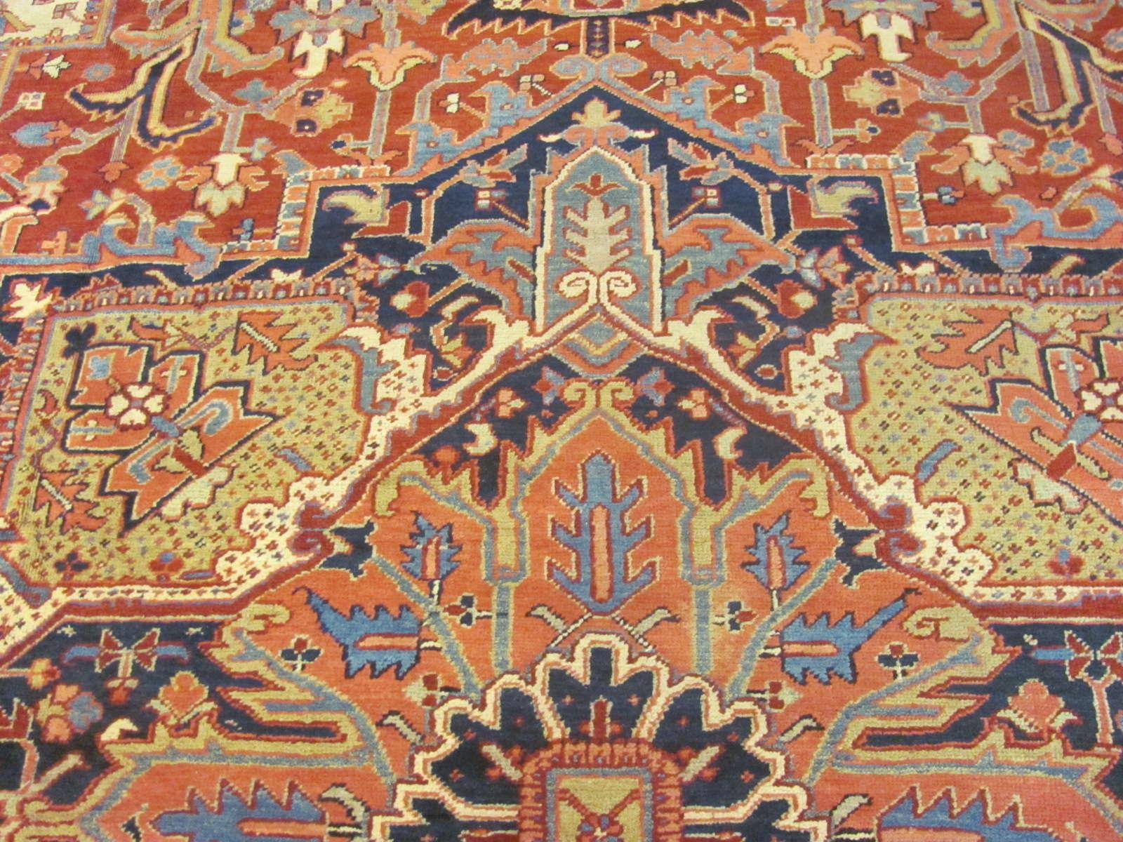 24878 persian heriz carpet 11,6x15,3-2