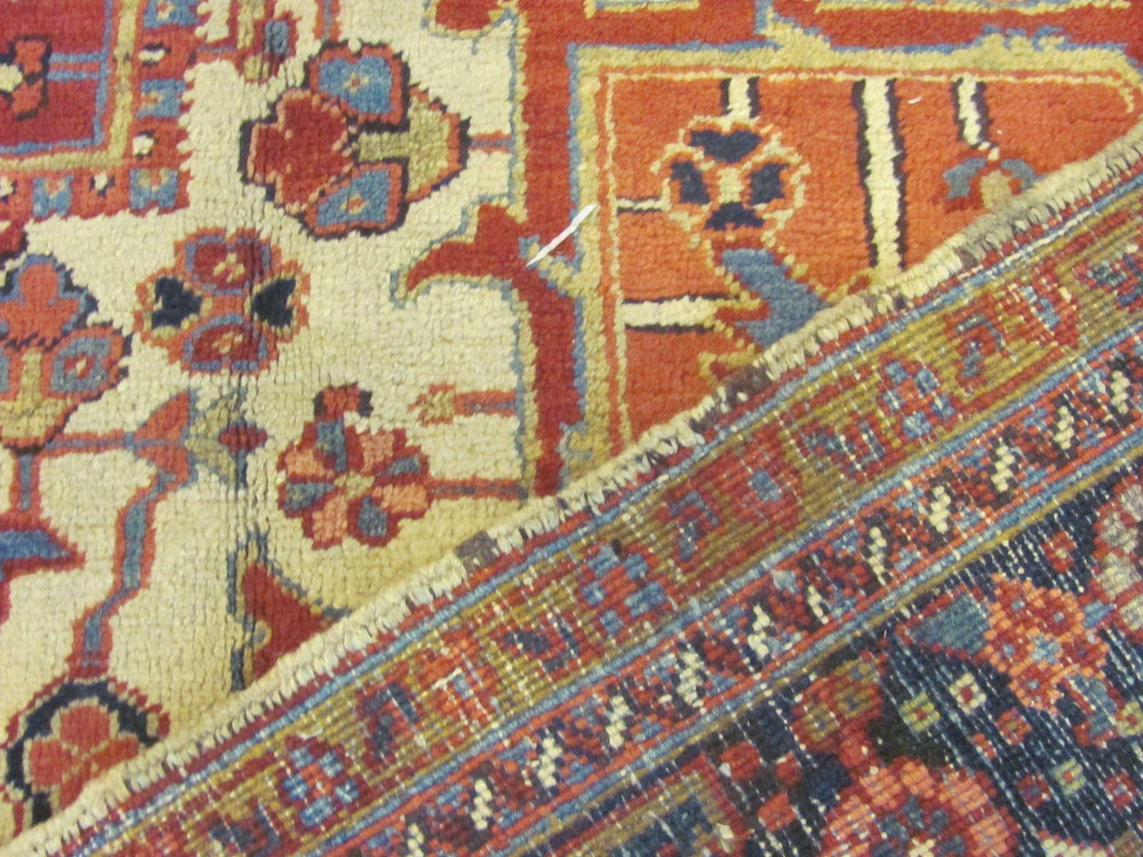 24878 persian heriz carpet 11,6x15,3-3