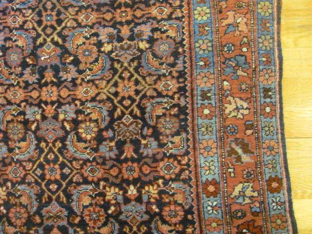 24898 persian bidjar rug 3,10x5-2