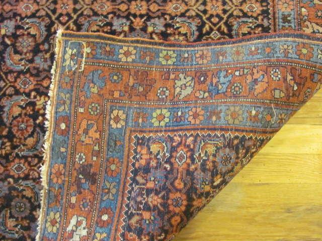 24898 persian bidjar rug 3,10x5-3