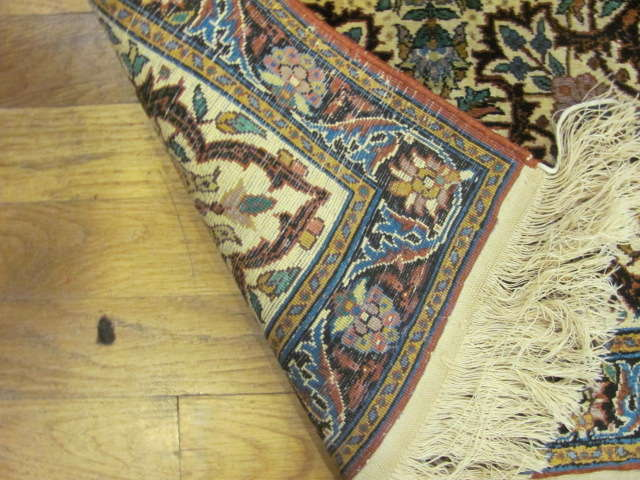 24922 Pair of India small rugs each 2 x 2 -3