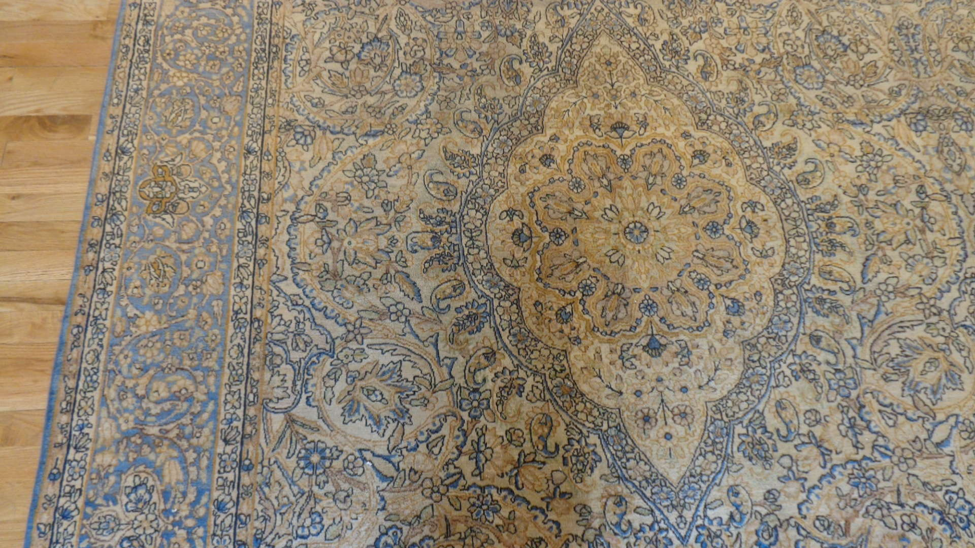 24925 Antique Persian Kirman rug 10,10 x 19 -2