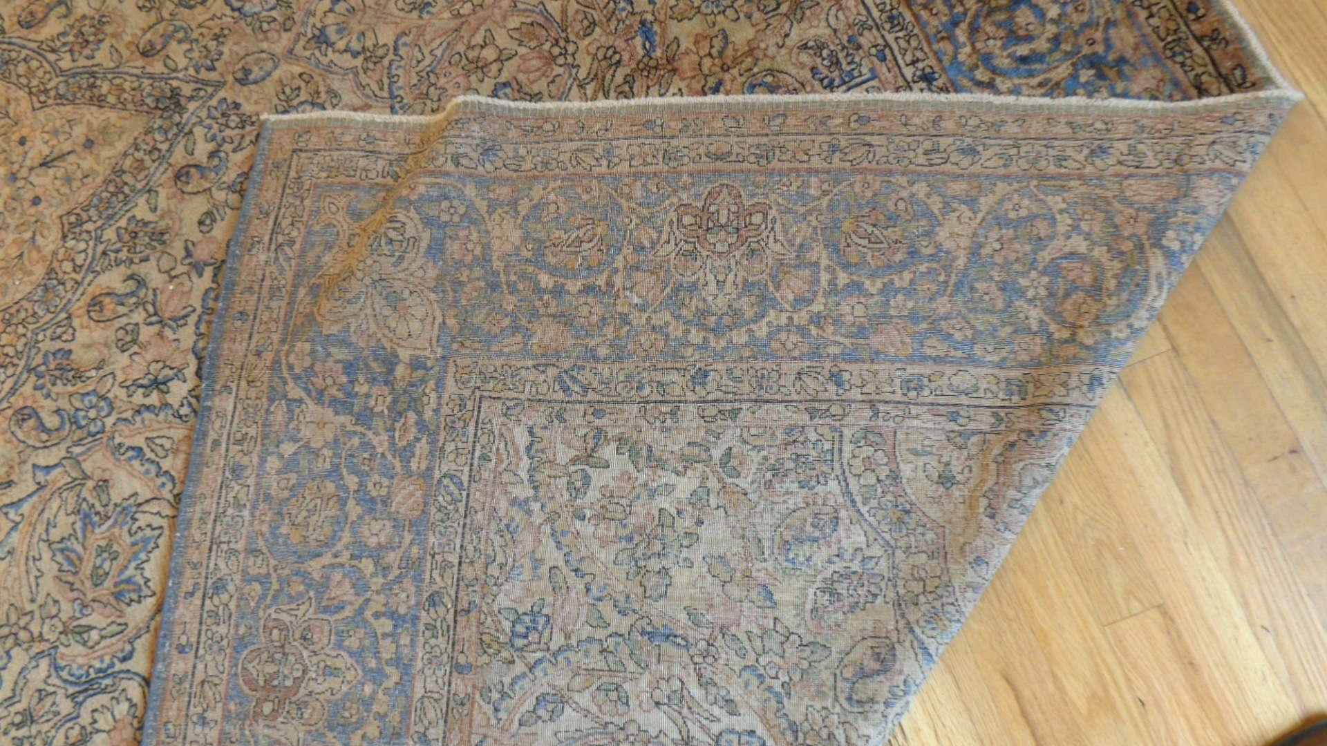 24925 Antique Persian Kirman rug 10,10 x 19 -3