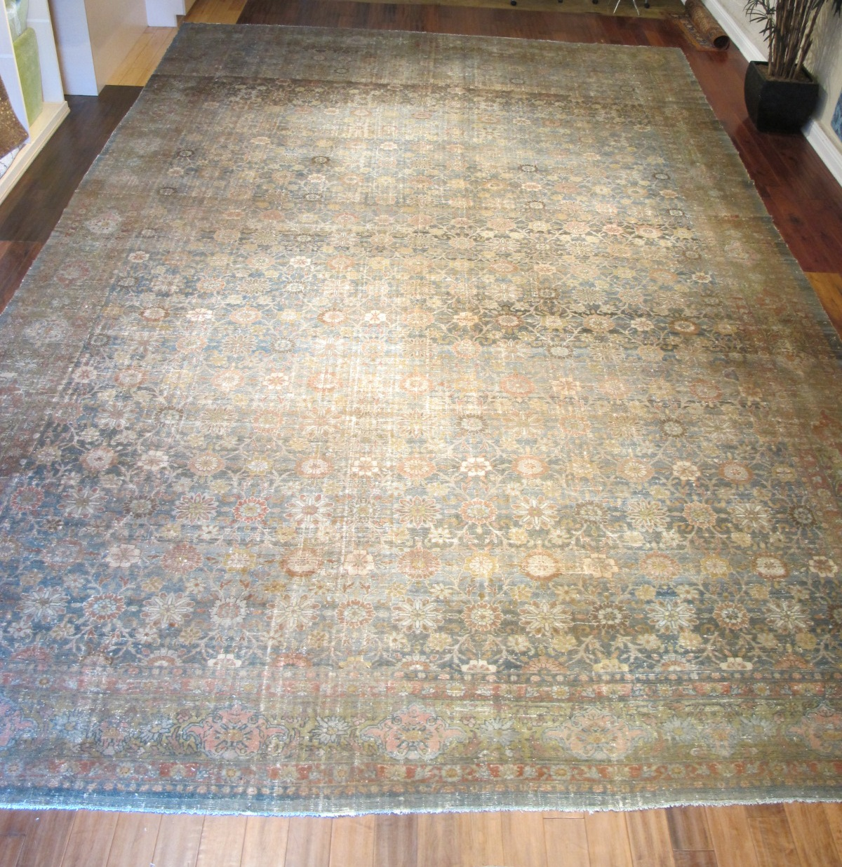11607 Antique Northwest Persian carpet 14,7x23,3 (2)