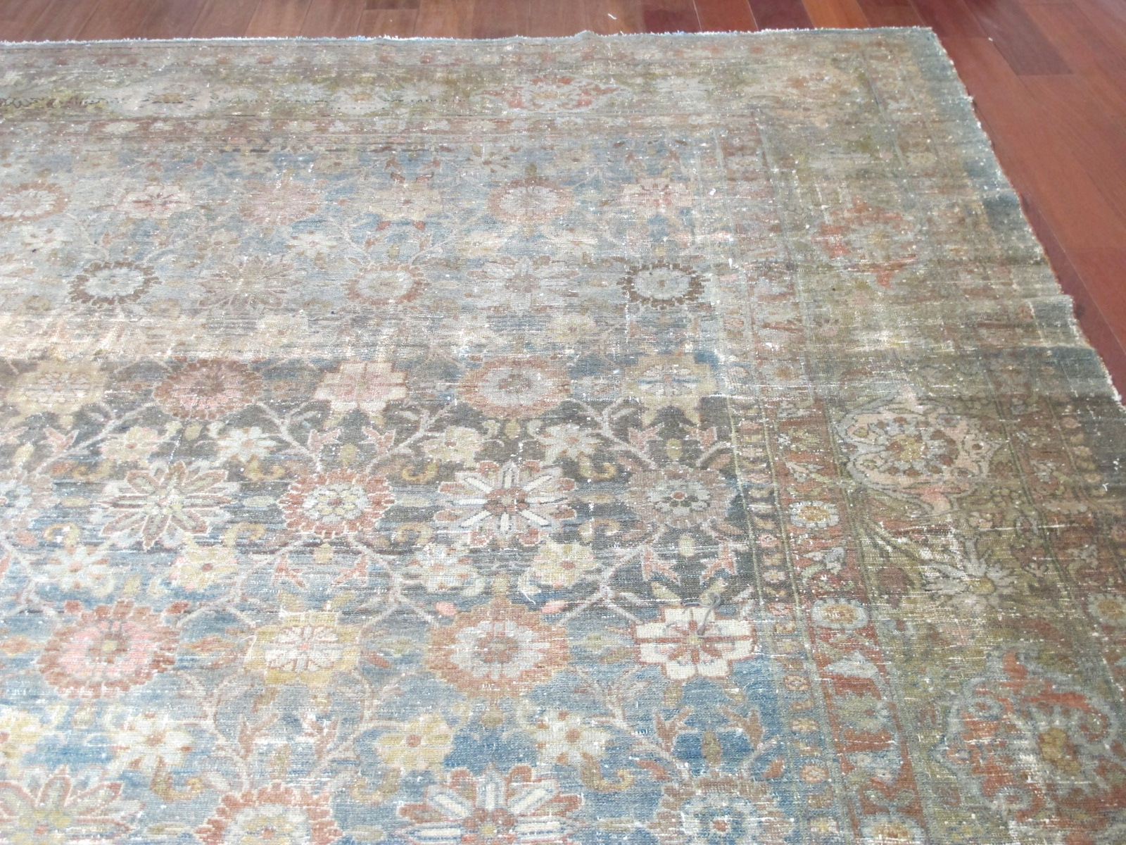 11607 Antique Northwest Persian carpet 14,7x23,3 (8)