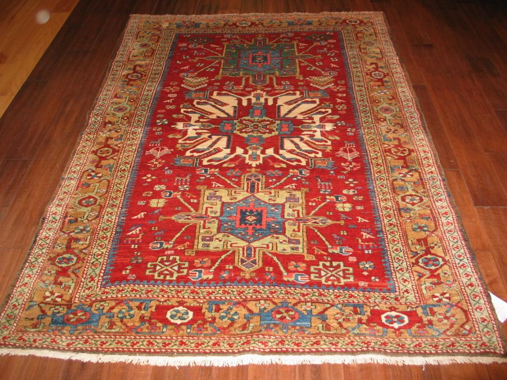 23672 antique persian serapi karadja rug 4,8x7,0 (1)