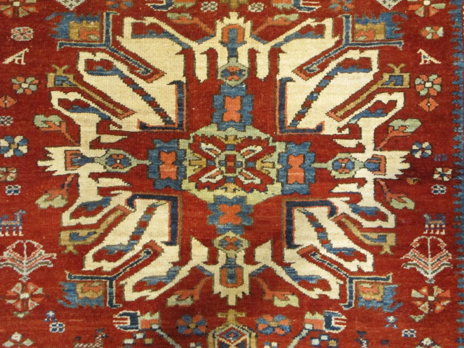 23672 antique persian serapi karadja rug 4,8x7,0 (3)