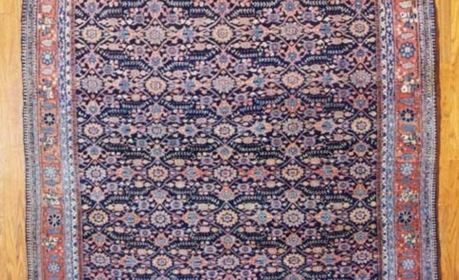 24987 Antique Persian Joshagan gallery carpet  6,10 x 16,10-1